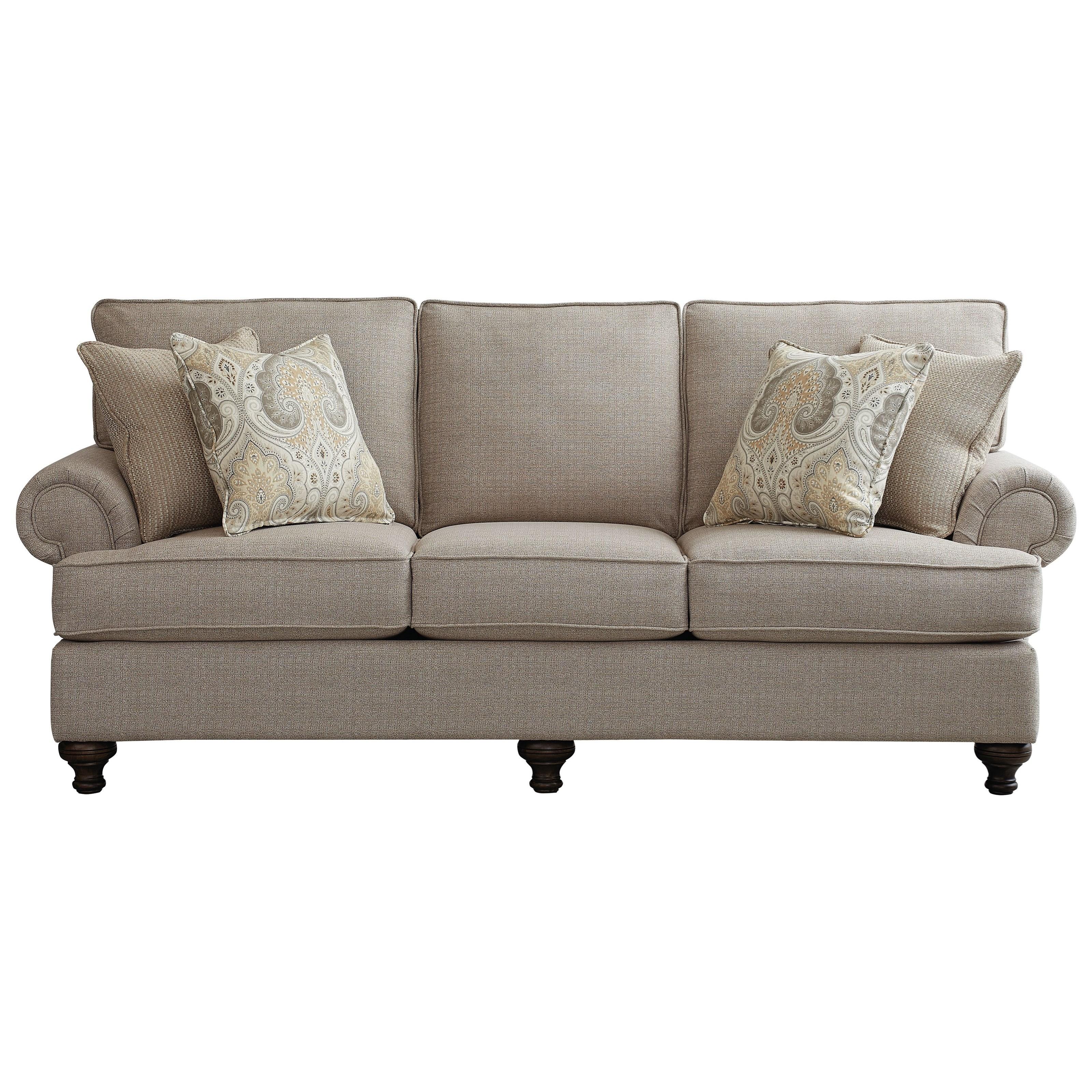 Madison Queen Sleeper Sofa by Bassett at Bassett of Cool Springs