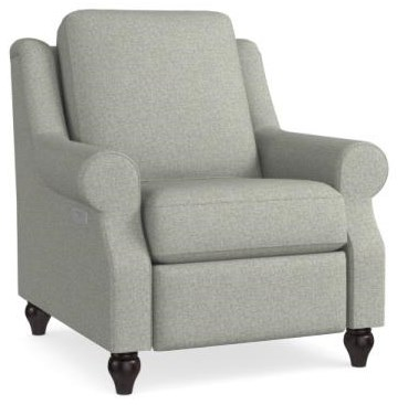 Magnificent Motion Power Headrest Recliner by Bassett at Johnny Janosik