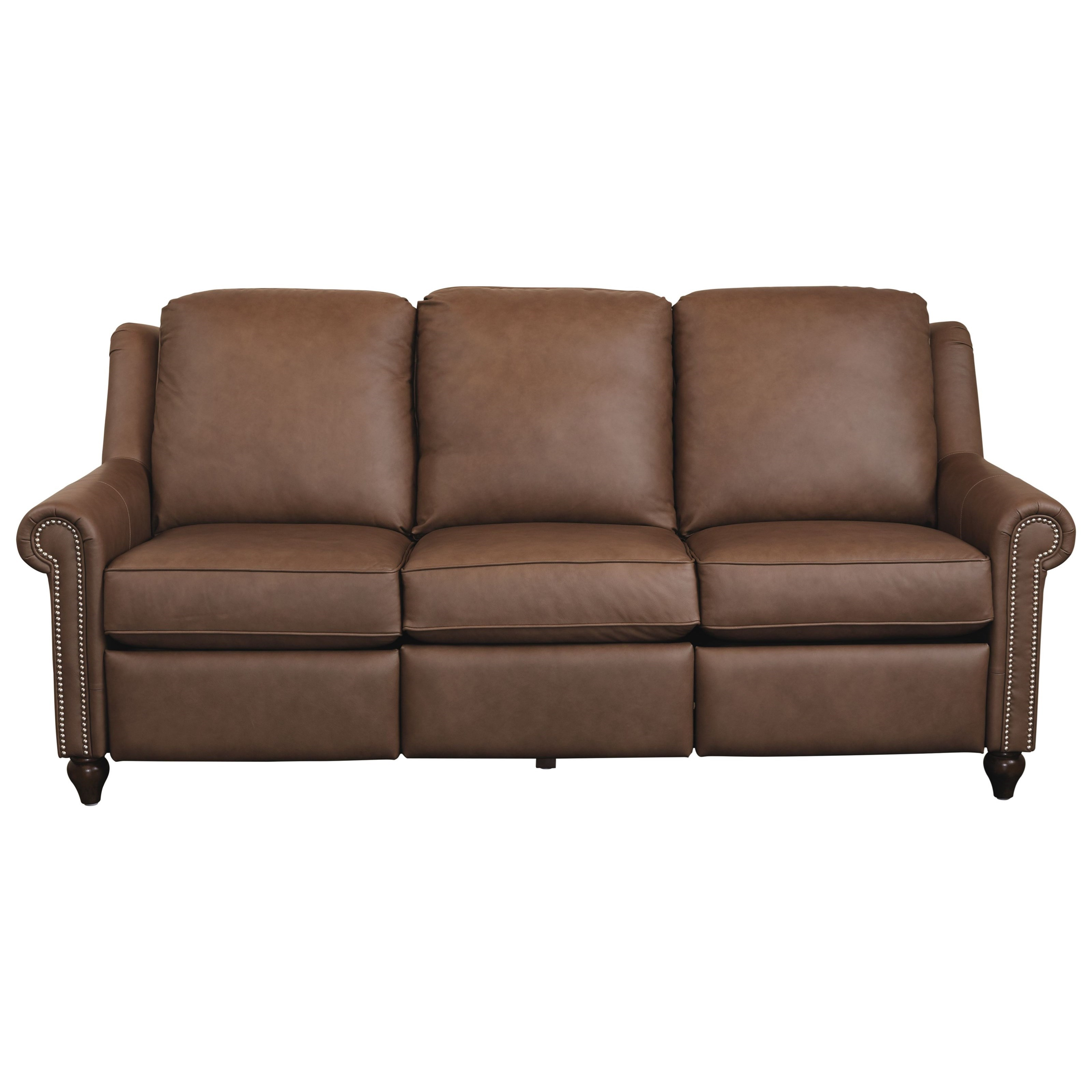 Magnificent Motion Customizable Power Reclining Sofa by Bassett at Bassett of Cool Springs