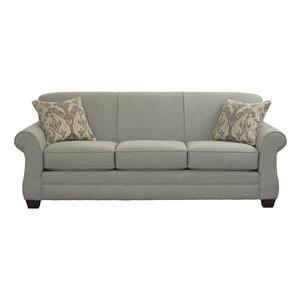 Transitional Sofa Sleeper with Gel Foam Mattress