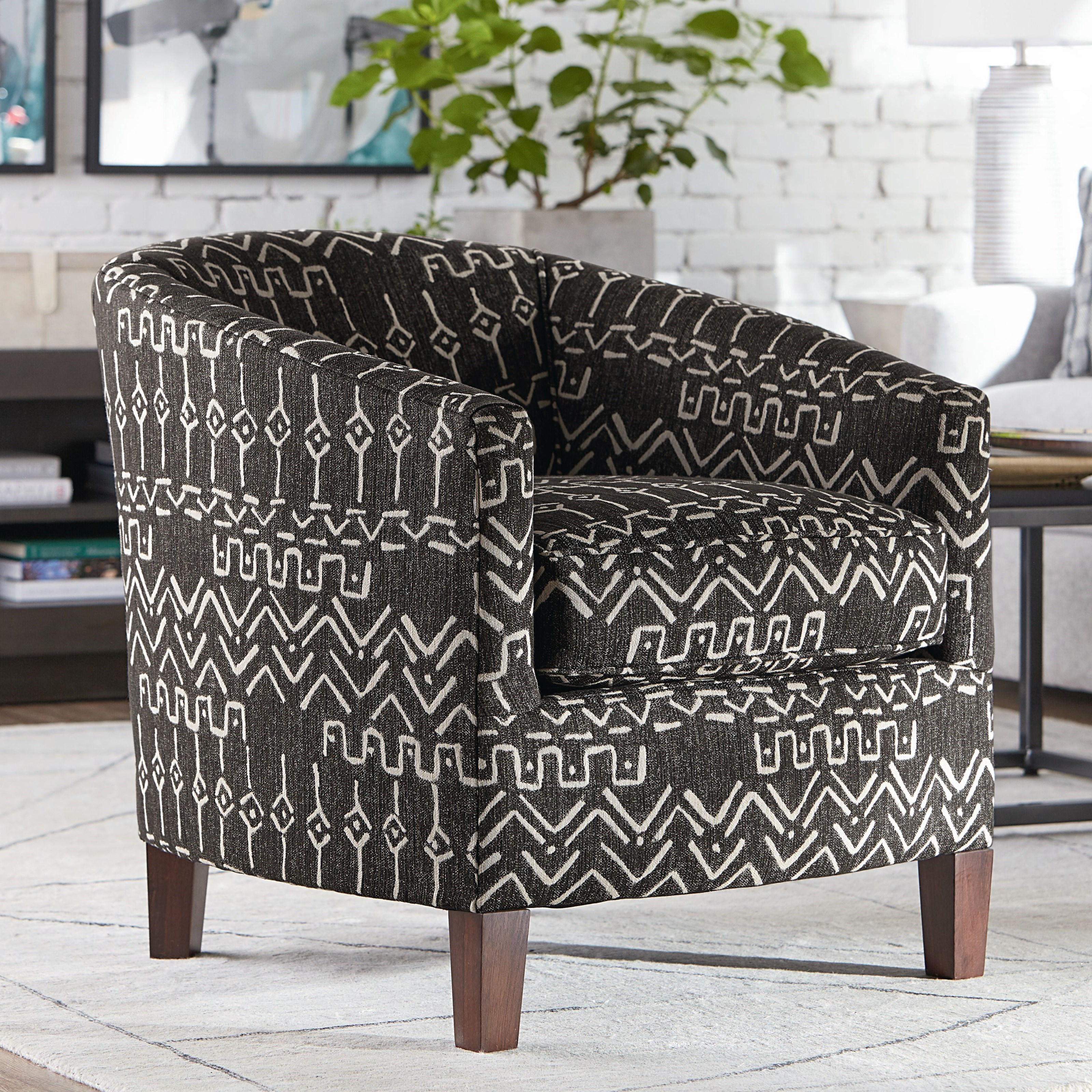 Maxwell Accent Chair by Bassett at Fisher Home Furnishings