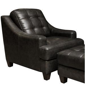 Bassett Mercer Leather Chair