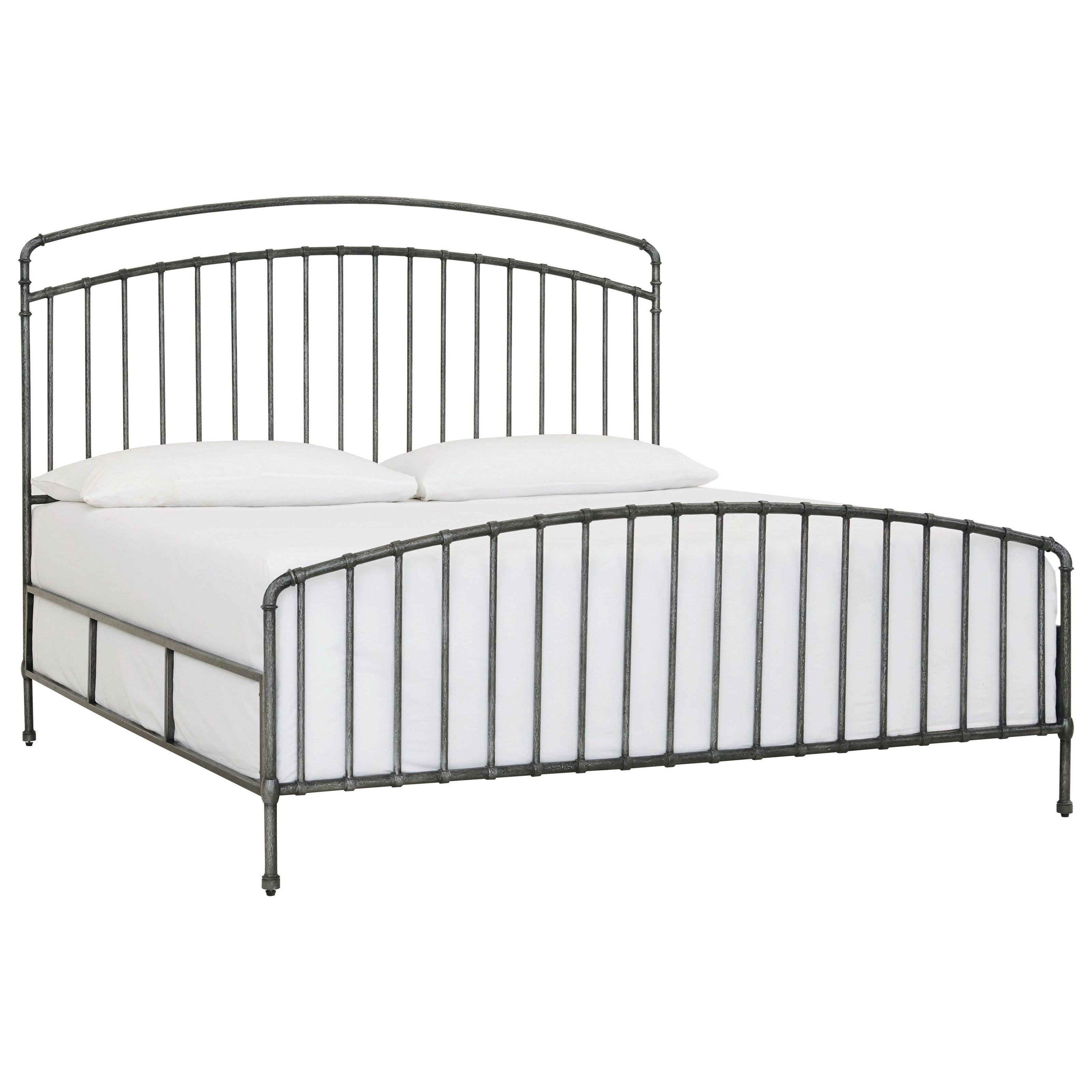 Miriam King Metal Bed by Bassett at Bassett of Cool Springs