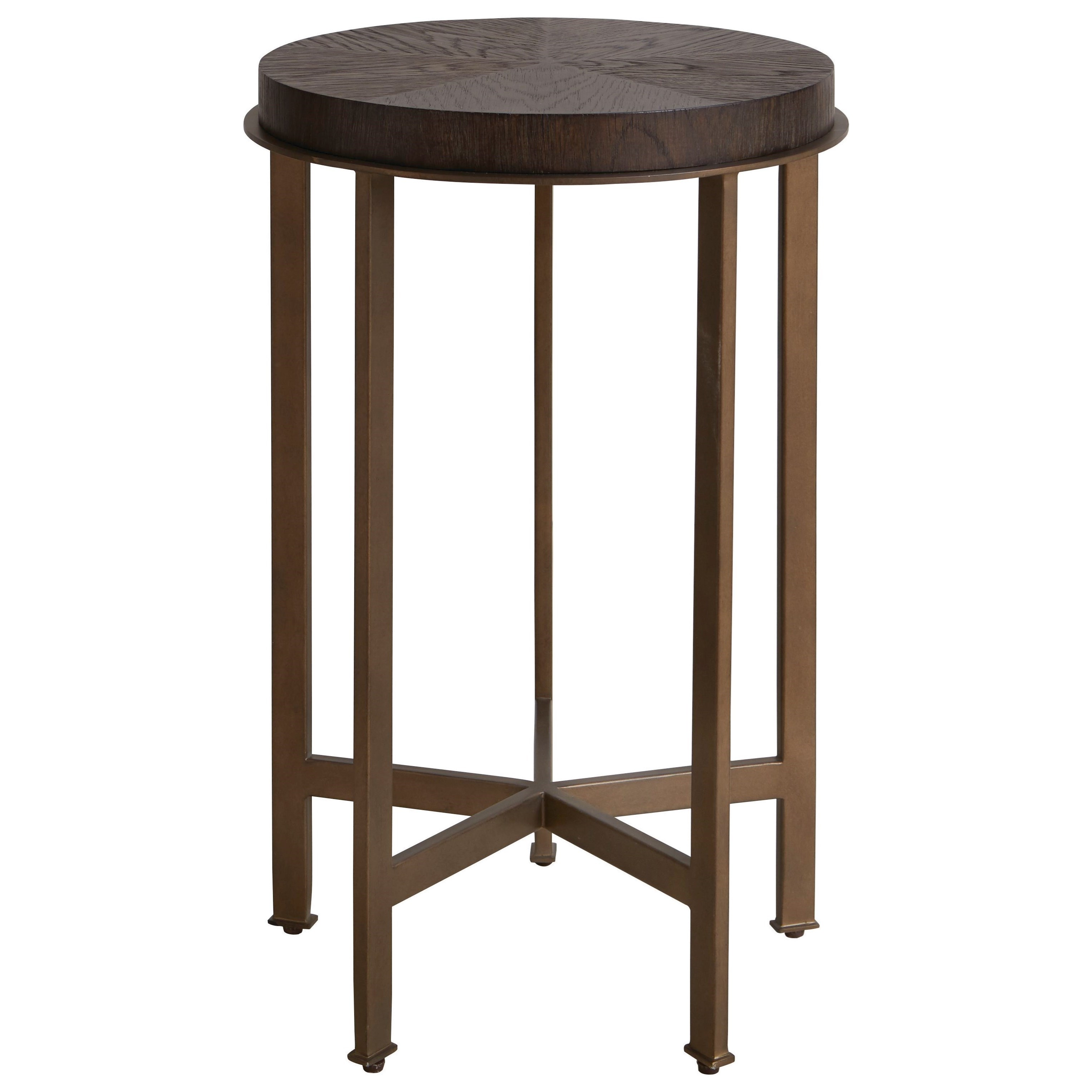 Modern - Axel Corso Lucy and Norman Round Side Table by Bassett at Bassett of Cool Springs