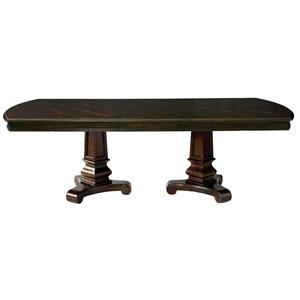 Bassett Moultrie Park Double Pedestal Dining Table