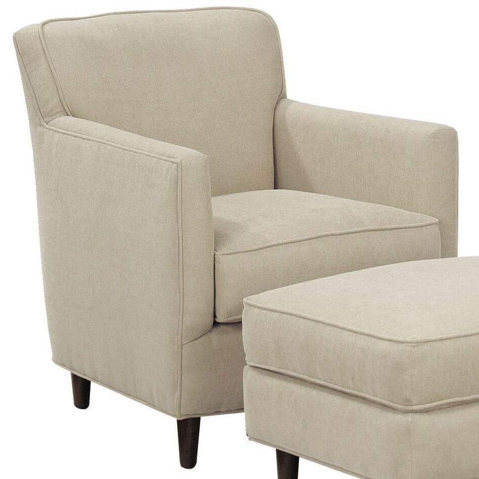New American Living Chair by Bassett at Bassett of Cool Springs