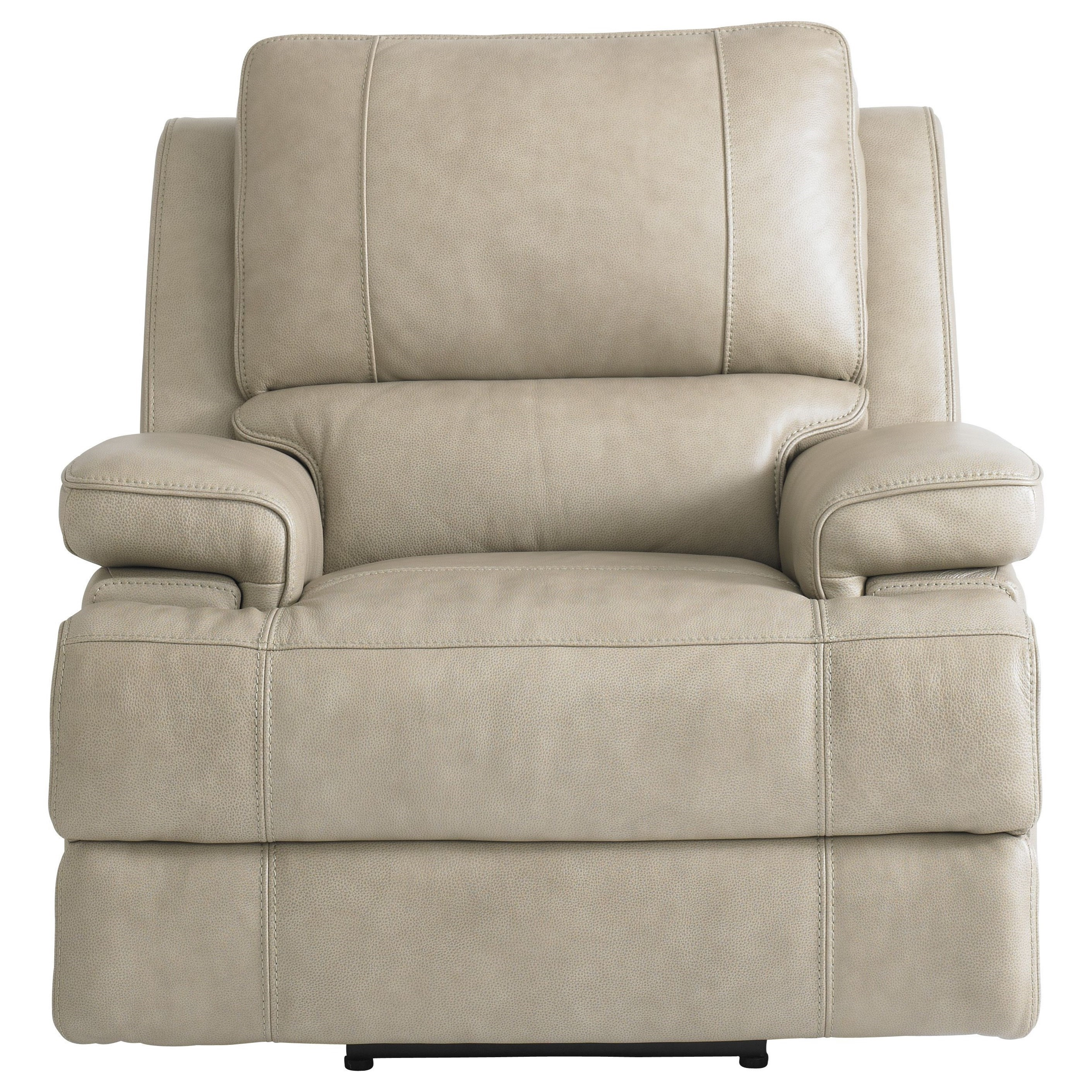 Parsons Club Level  Power Wallsaver Recliner by Bassett at Darvin Furniture