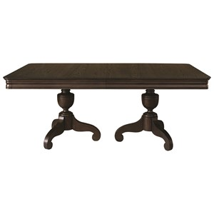 Double Pedastal Table