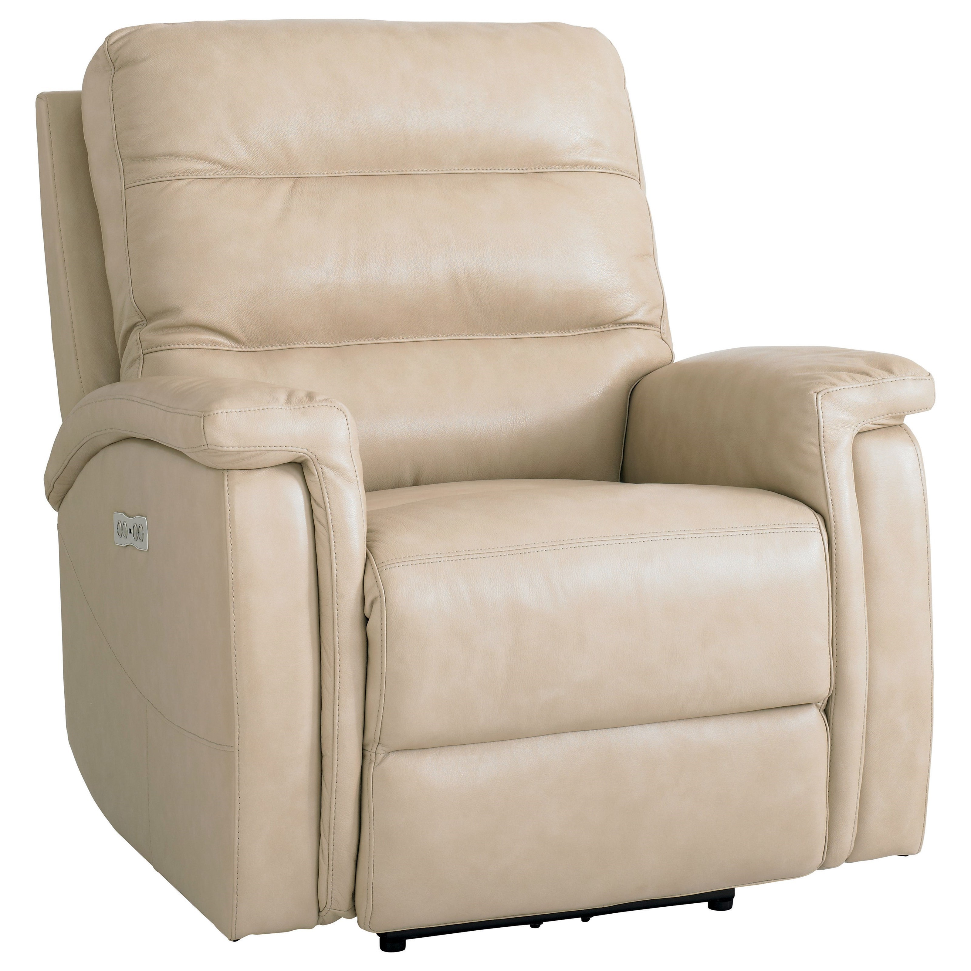 Regency - Club Level Motion Recliner with Power Adjustable HR by Bassett at Bassett of Cool Springs