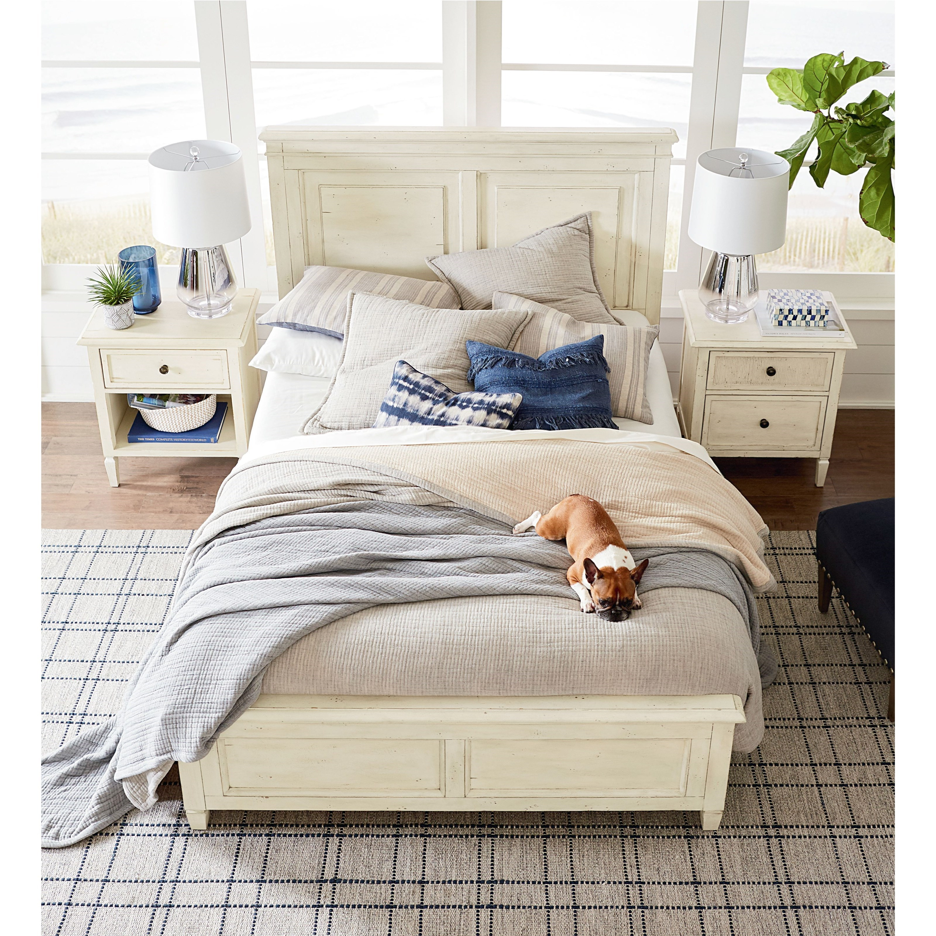 Shoreline Queen Panel Storage Bed by Bassett at Bassett of Cool Springs