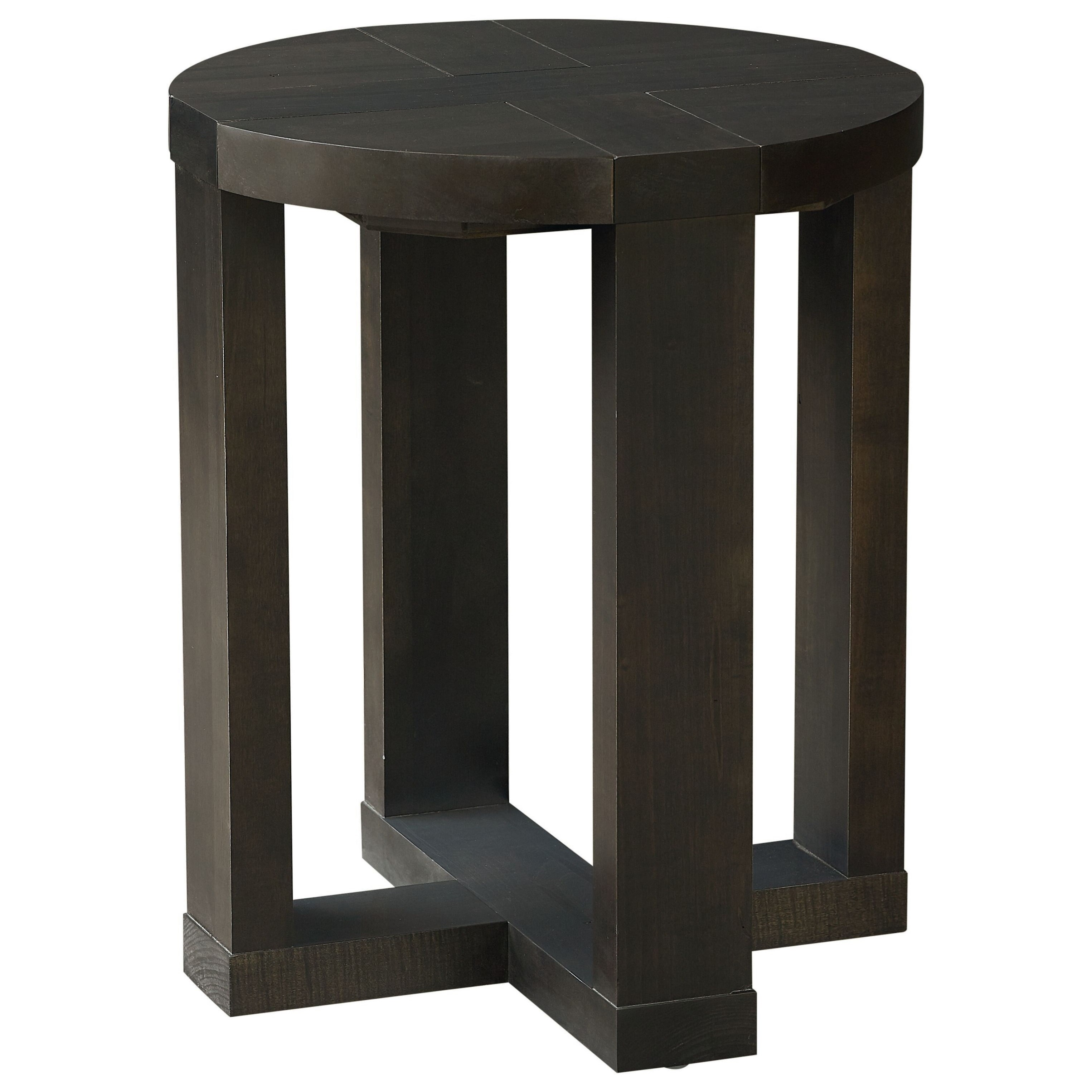 Skyline End Table by Bassett at Becker Furniture