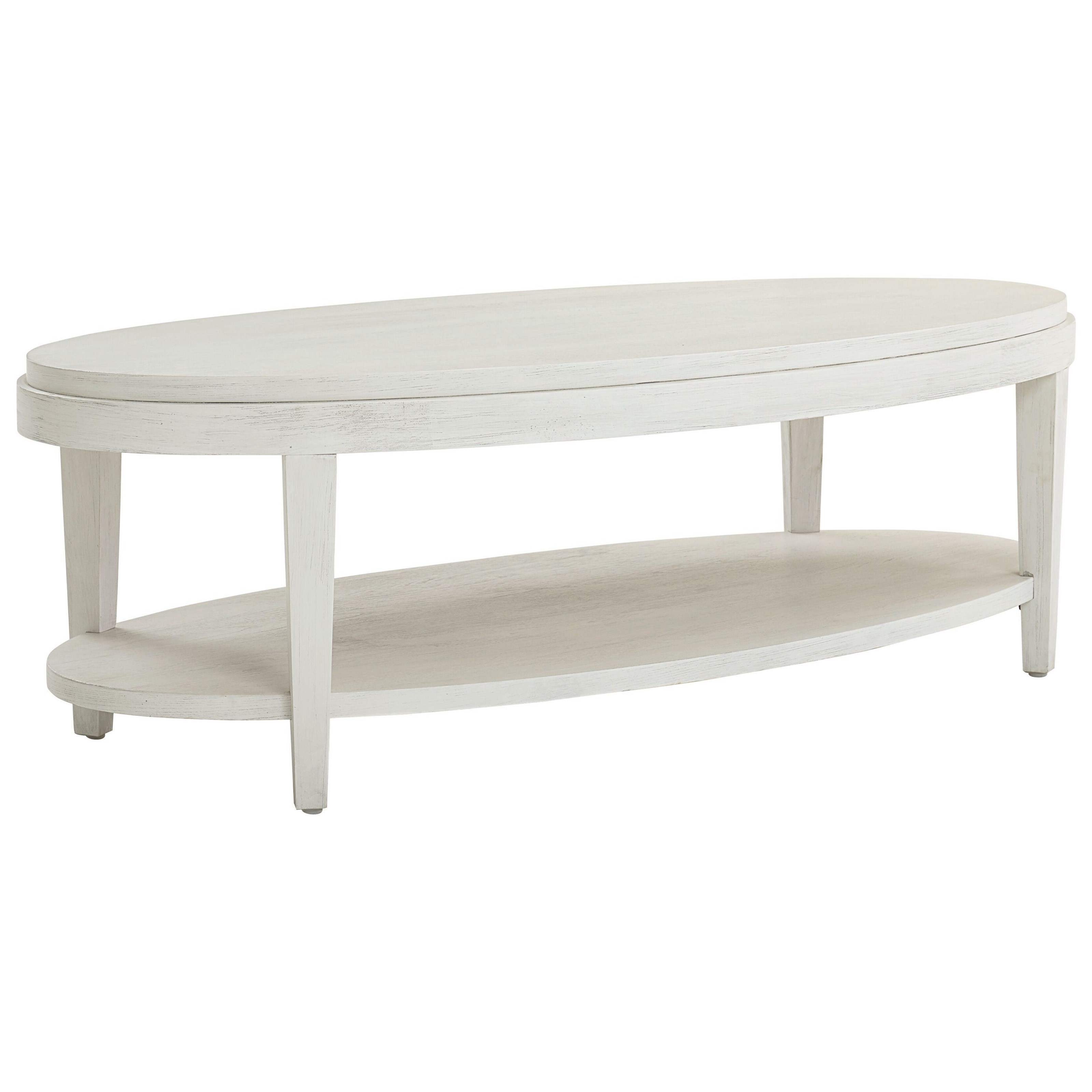 Ventura Oval Cocktail Table by Bassett at Bassett of Cool Springs