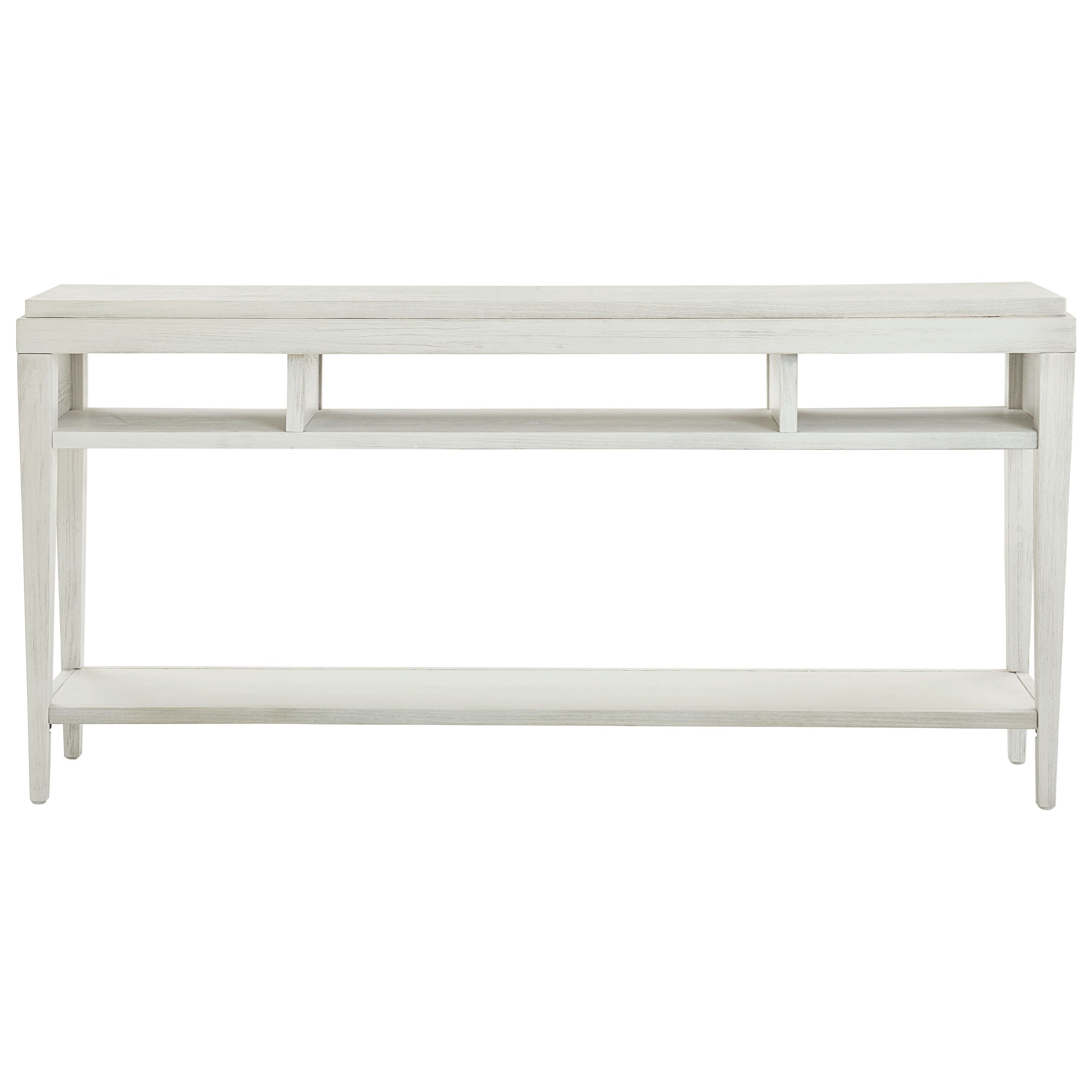 Ventura Console Table by Bassett at Fashion Furniture