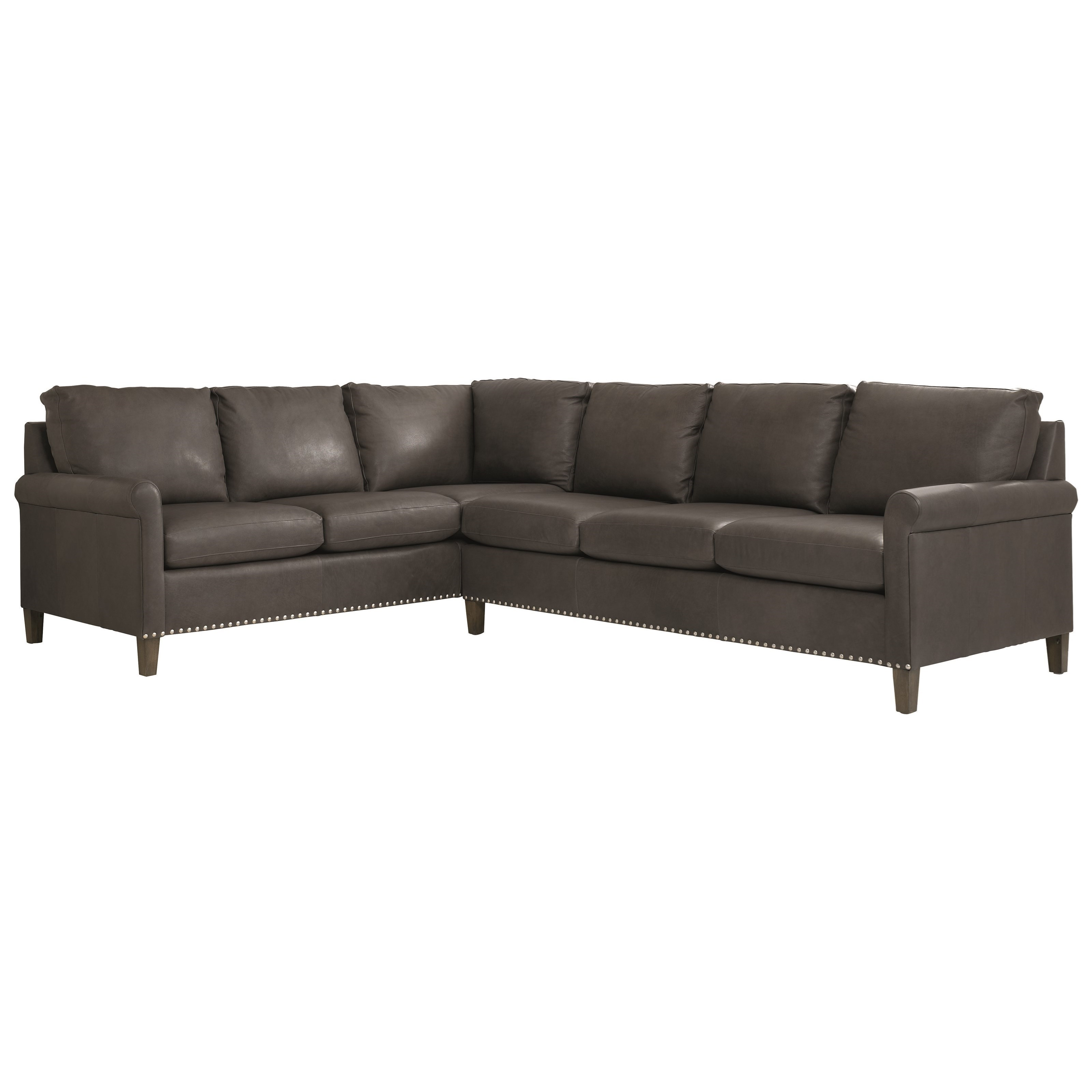 Wellington 2-Piece Sectional by Bassett at Bassett of Cool Springs