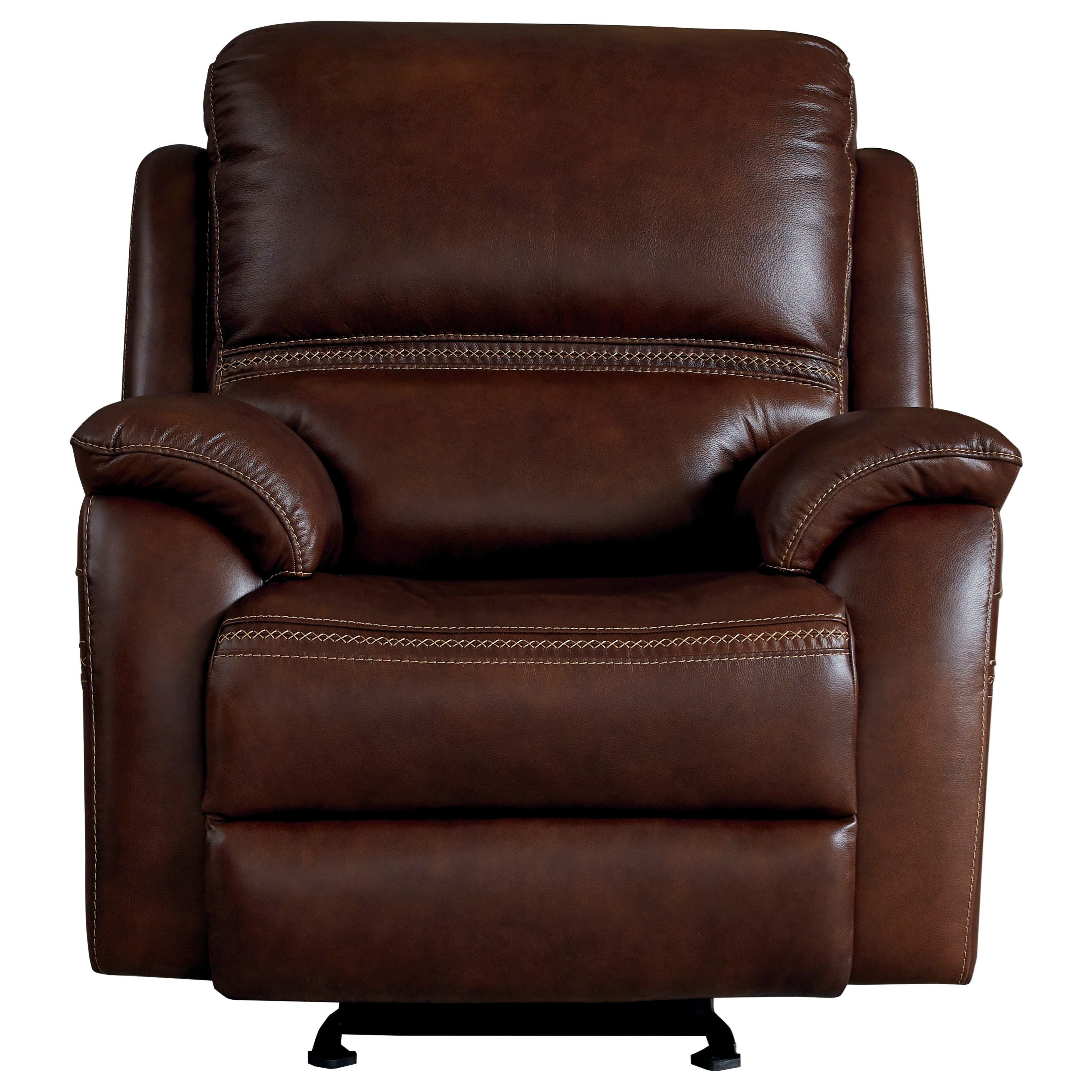 Williams - Club Level by Bassett Power Glider Recliner by Bassett at Johnny Janosik