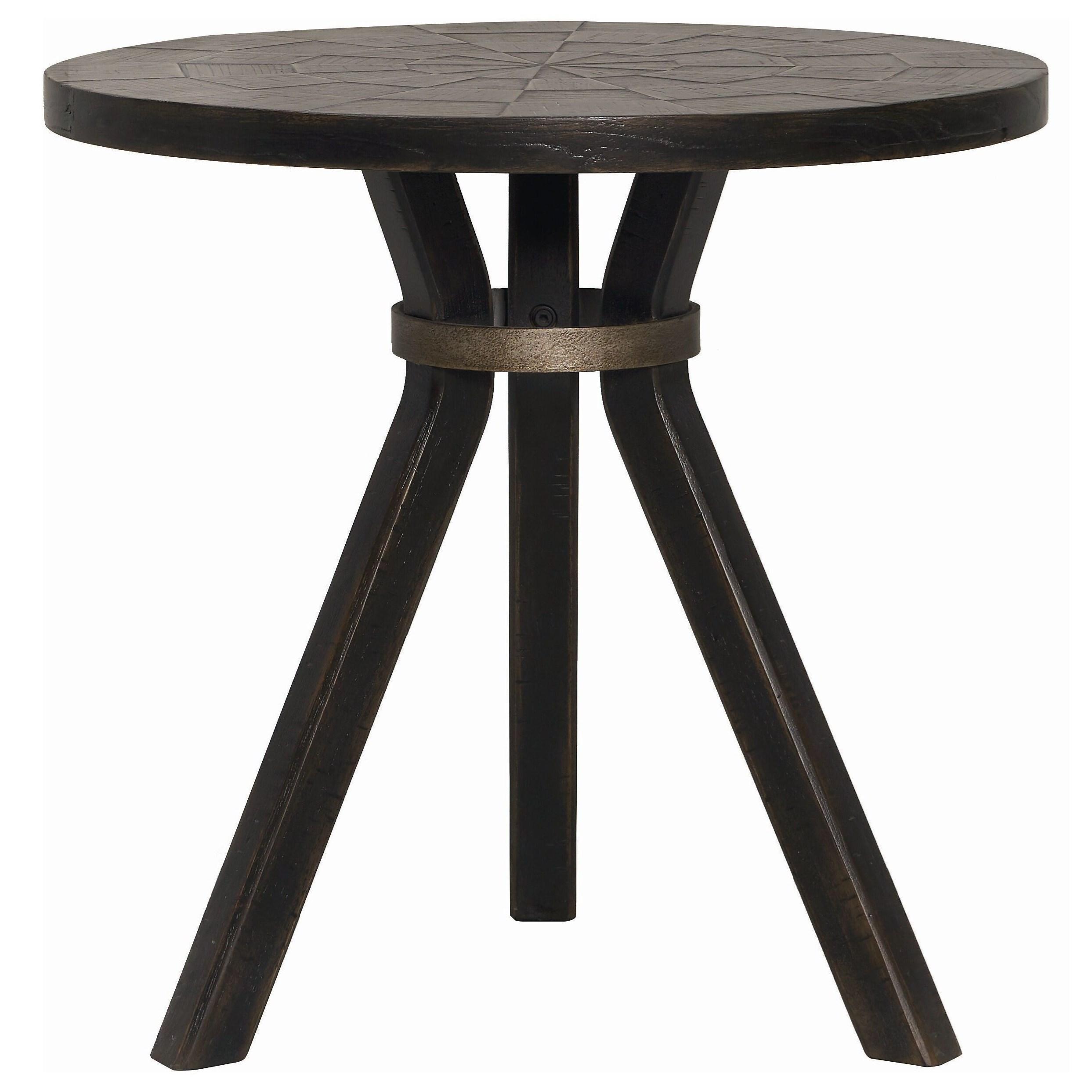 Woodridge Round Drink Table by Bassett at Bassett of Cool Springs