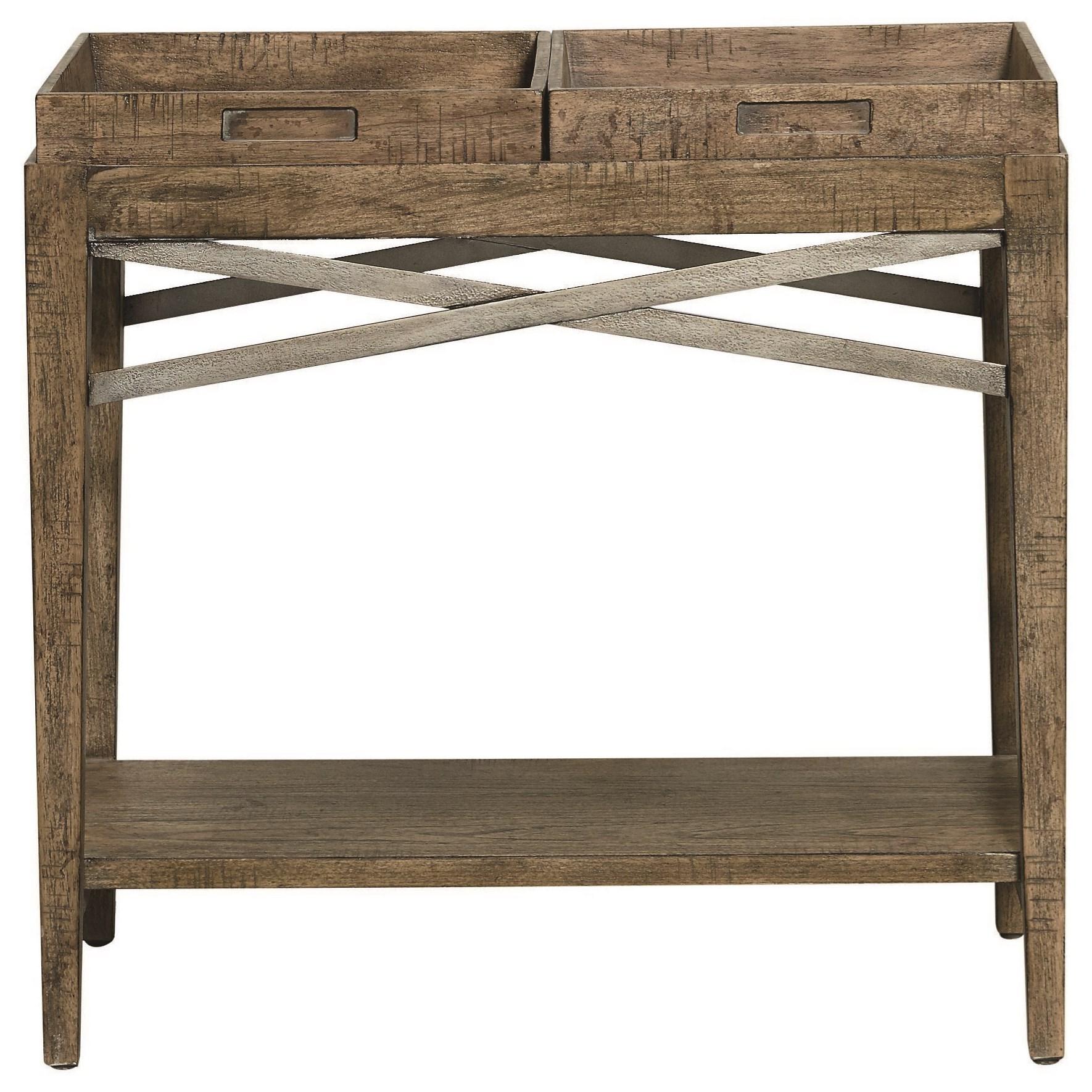 Woodridge Chairside Table by Bassett at Bassett of Cool Springs