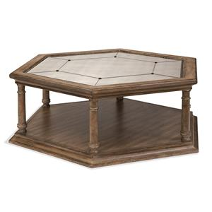 Galliano Octagon Cocktail Table
