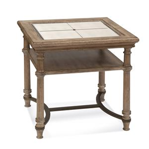 Galliano Rectangle End Table
