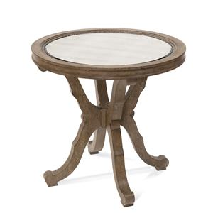 Galliano Round End Table
