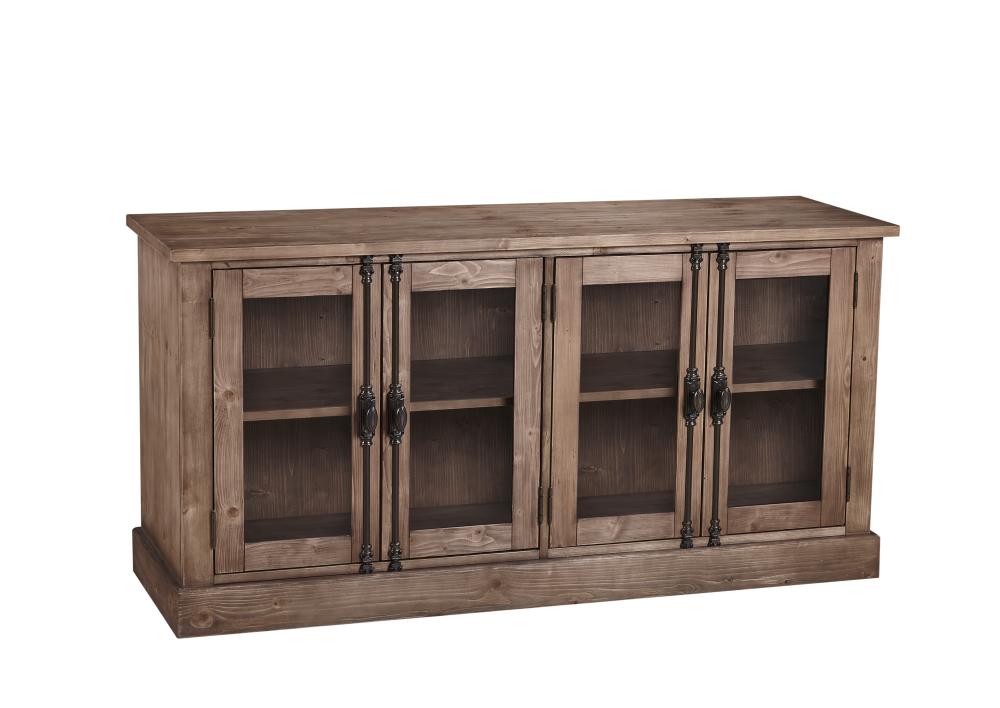 Belgian Luxe Kinzie Server by Bassett Mirror at Lapeer Furniture & Mattress Center