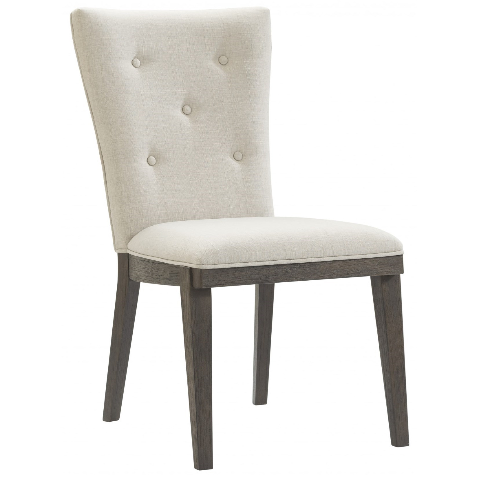 Belgian Luxe Samara Side Dining Chair by Bassett Mirror at Alison Craig Home Furnishings