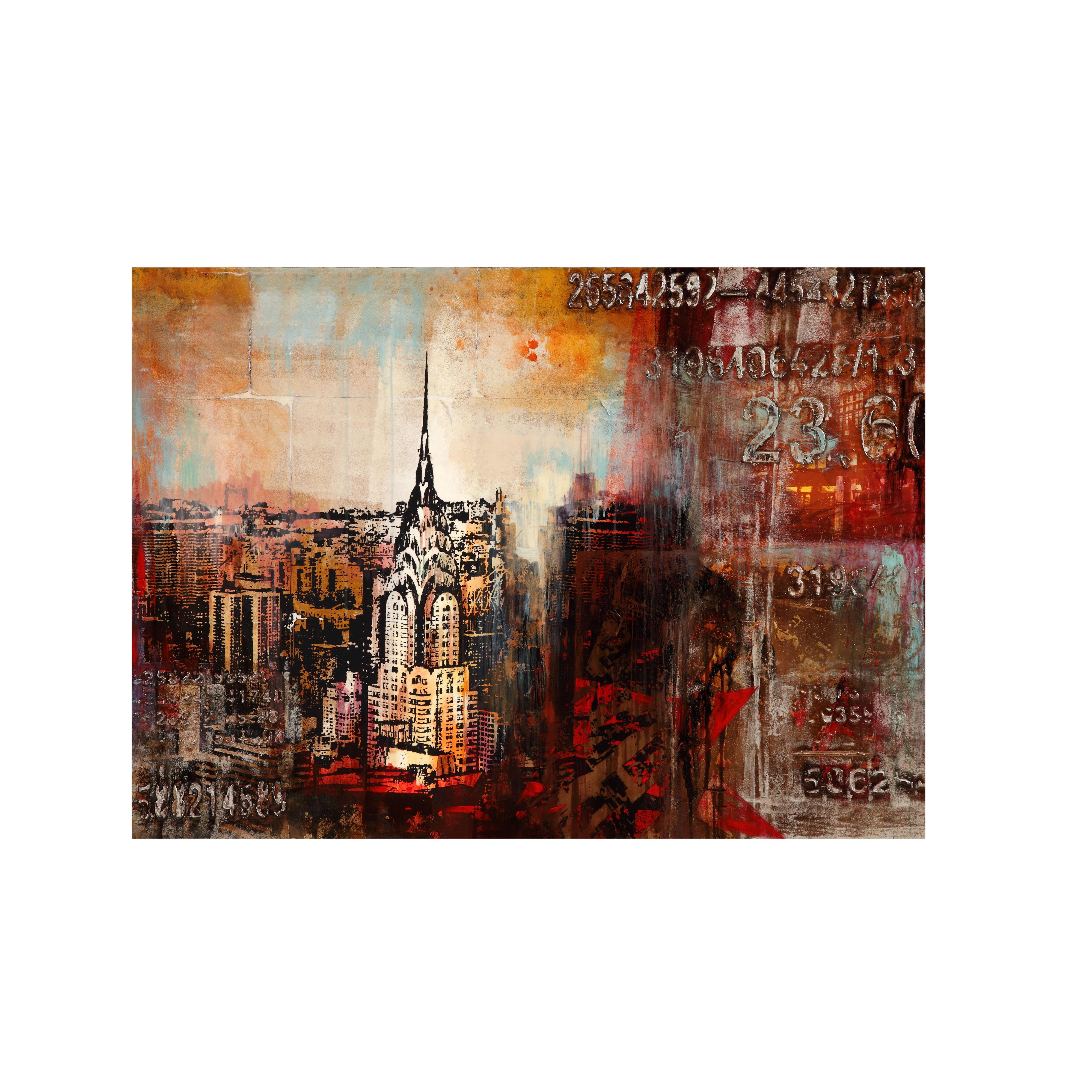Belgian Luxe Downtown Nights- Canvas by Bassett Mirror at Alison Craig Home Furnishings