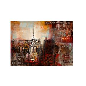 Downtown Nights- Canvas