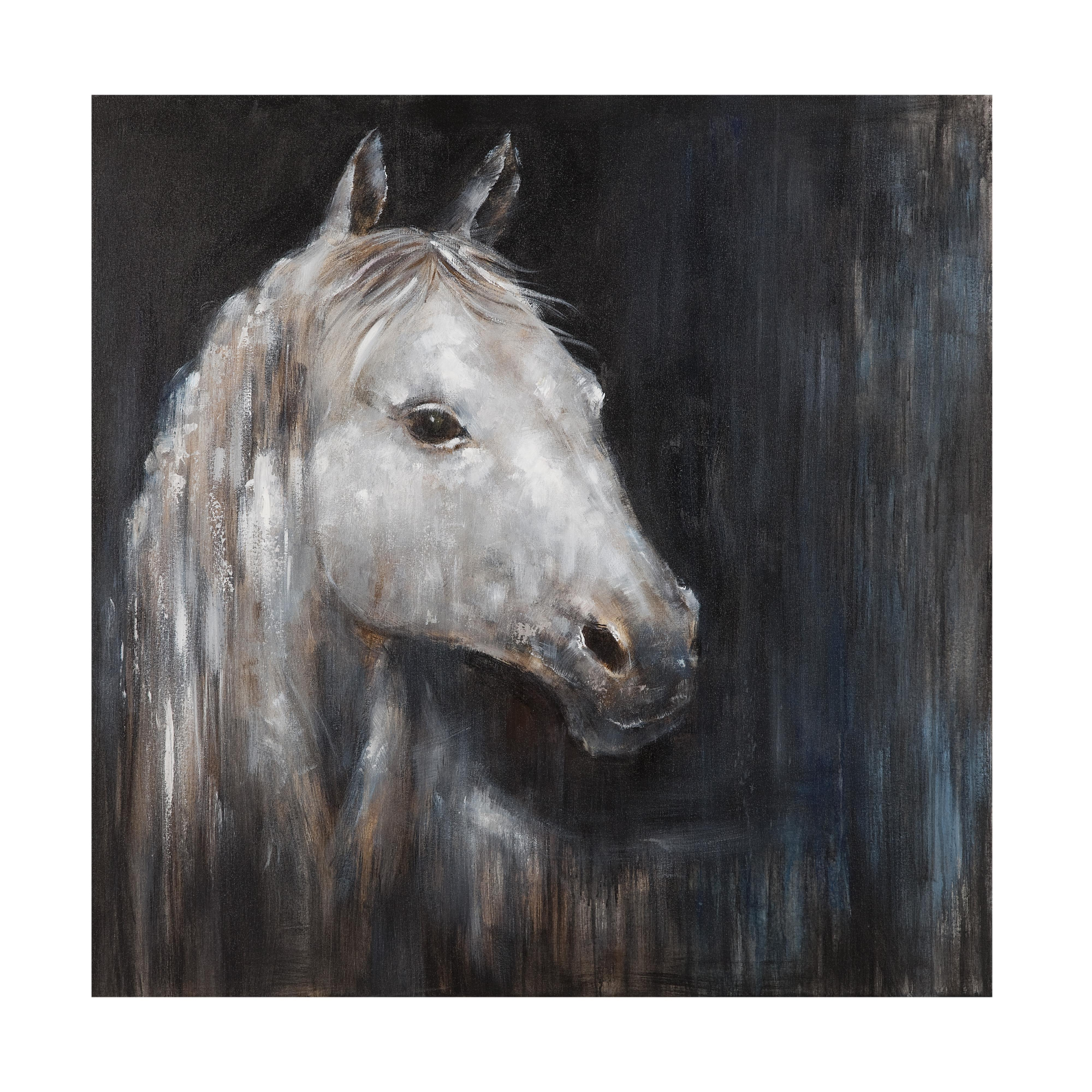 Belgian Luxe Mystical Horse by Bassett Mirror at Alison Craig Home Furnishings