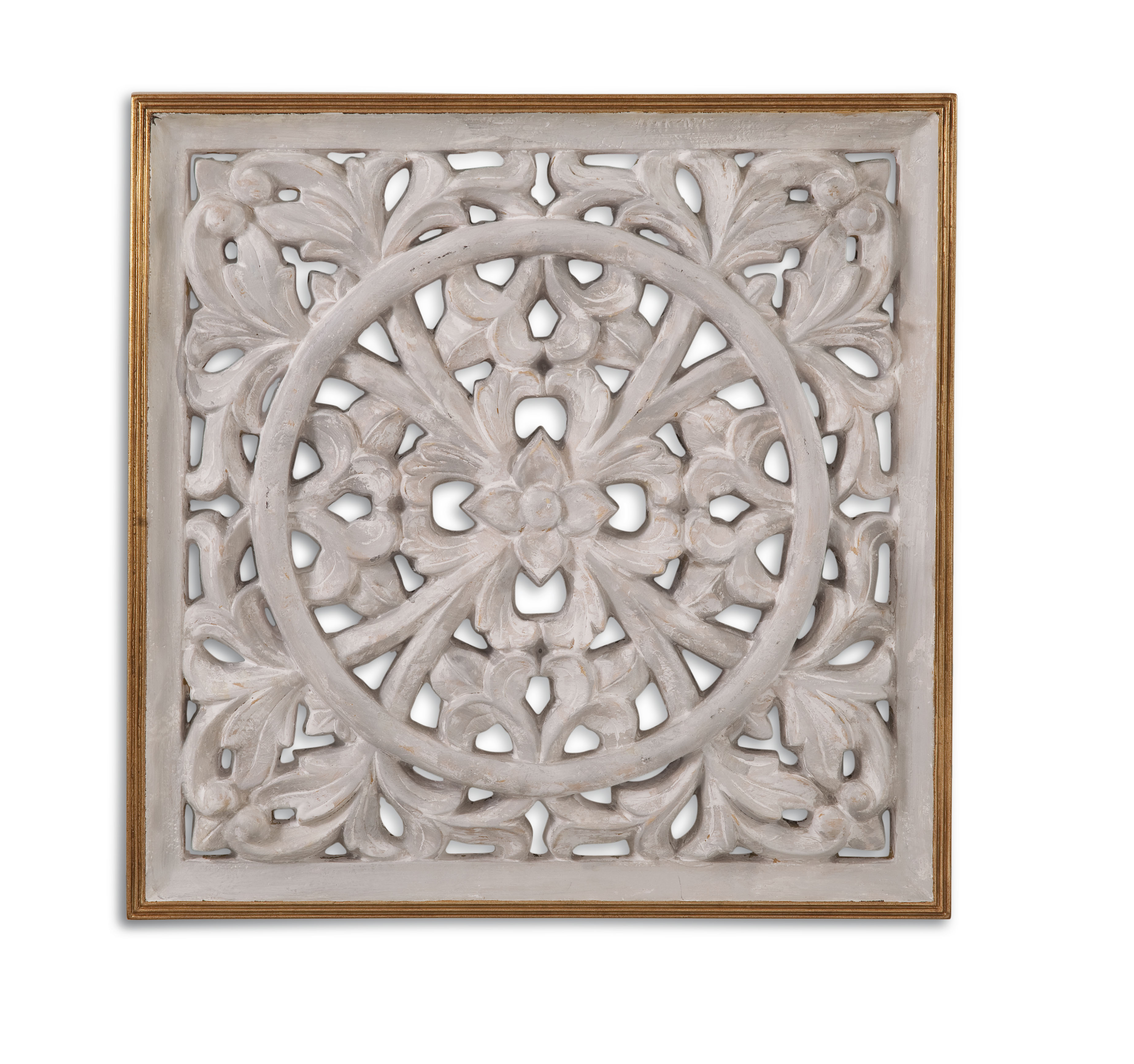 Belgian Luxe Jasper Wall Medallion by Bassett Mirror at Alison Craig Home Furnishings