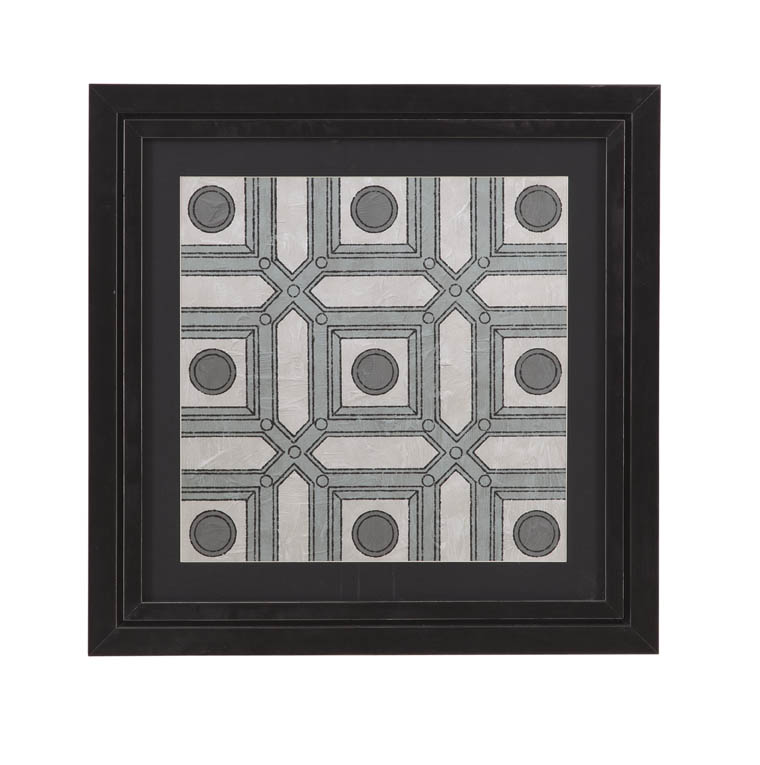 Belgian Luxe Caisson III by Bassett Mirror at Alison Craig Home Furnishings