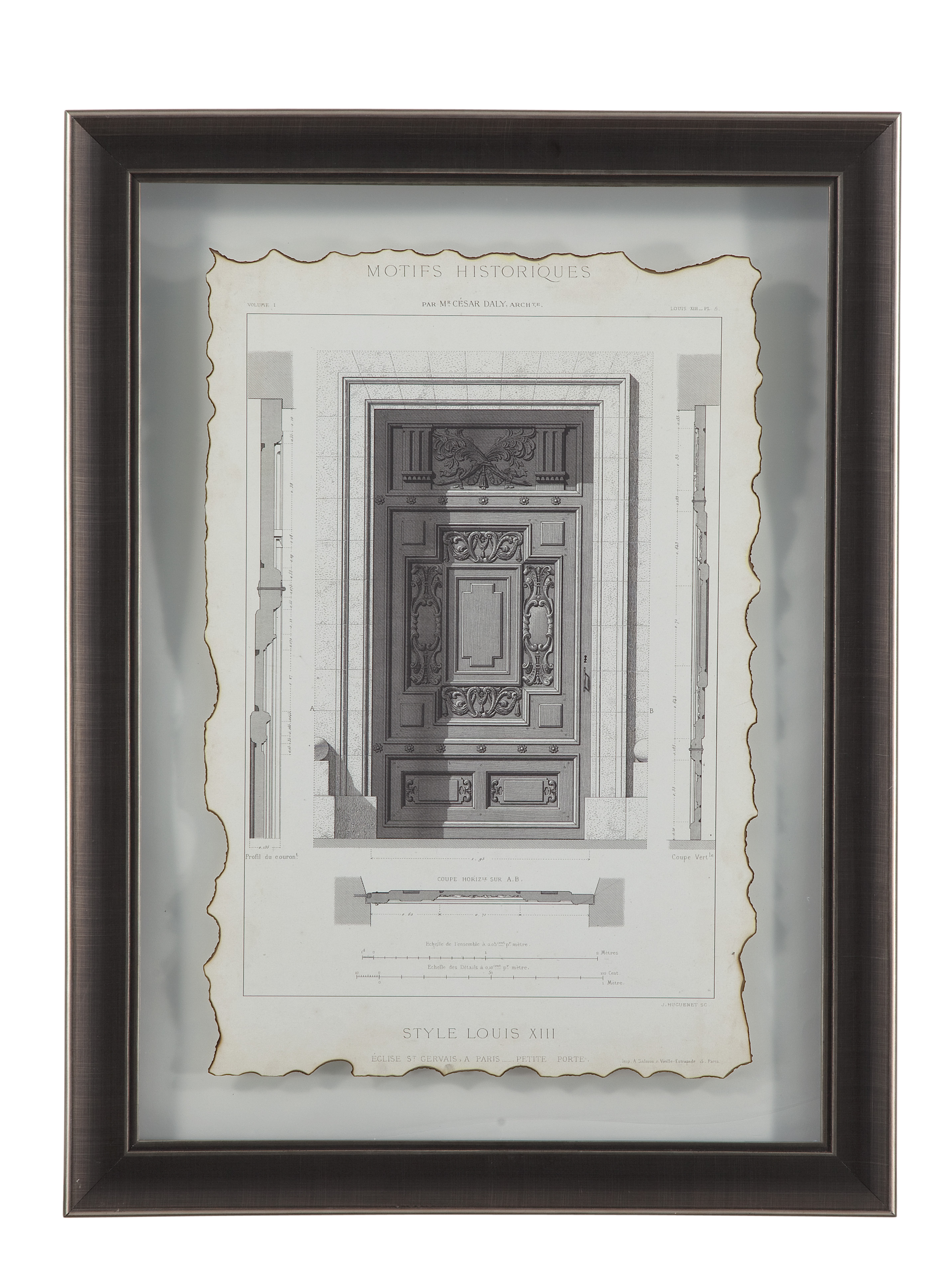 Belgian Luxe Motifs Historiques IV by Bassett Mirror at Alison Craig Home Furnishings