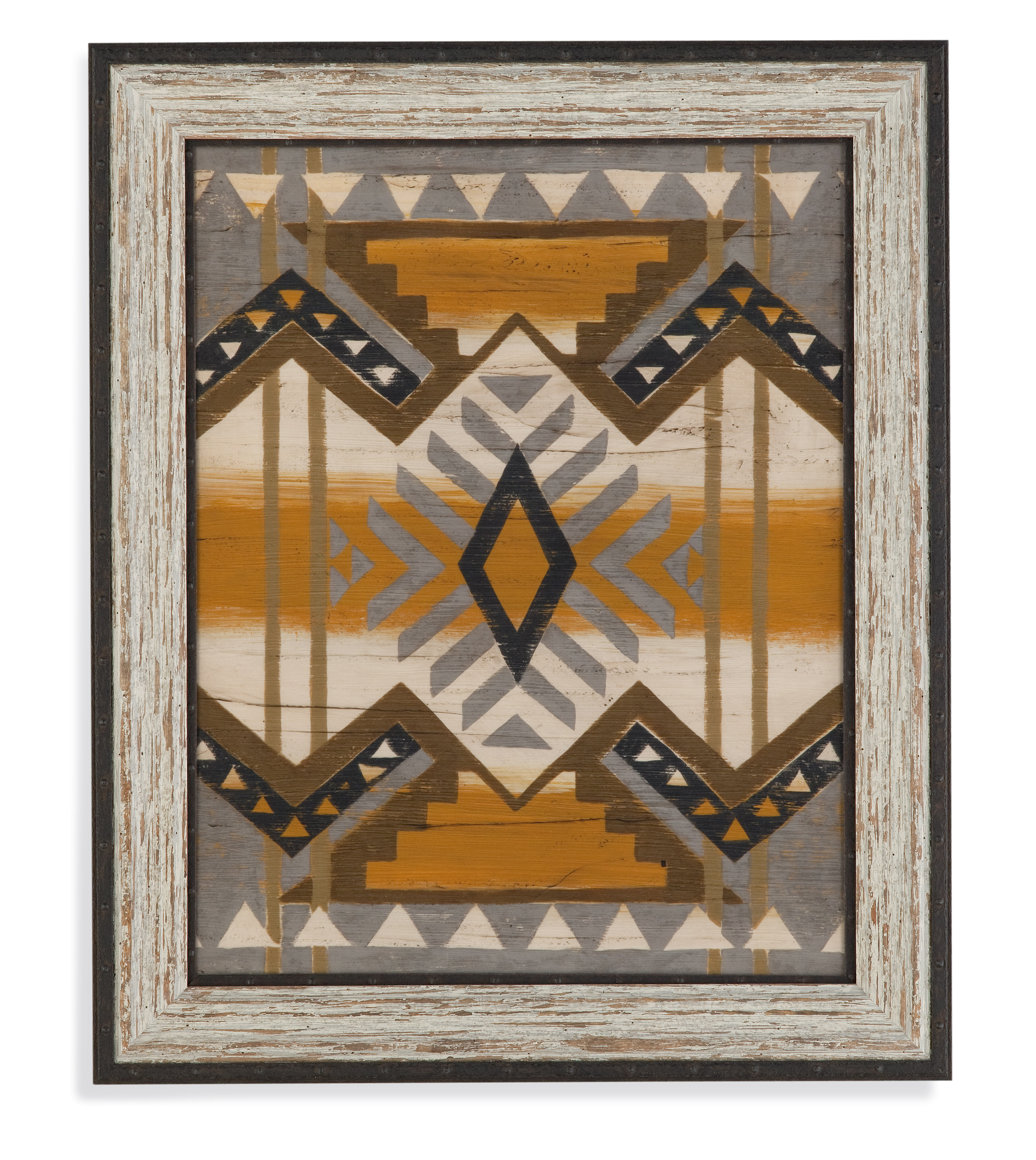 Belgian Luxe Embellished River Canyon III by Bassett Mirror at Alison Craig Home Furnishings