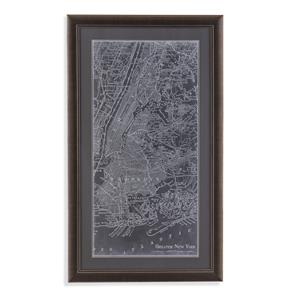 Graphic Map of New York