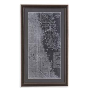 Graphic Map of Chicago