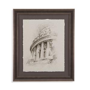 Charcoal Architectural Study I