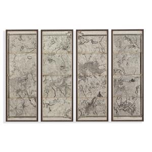 Map of London Panels