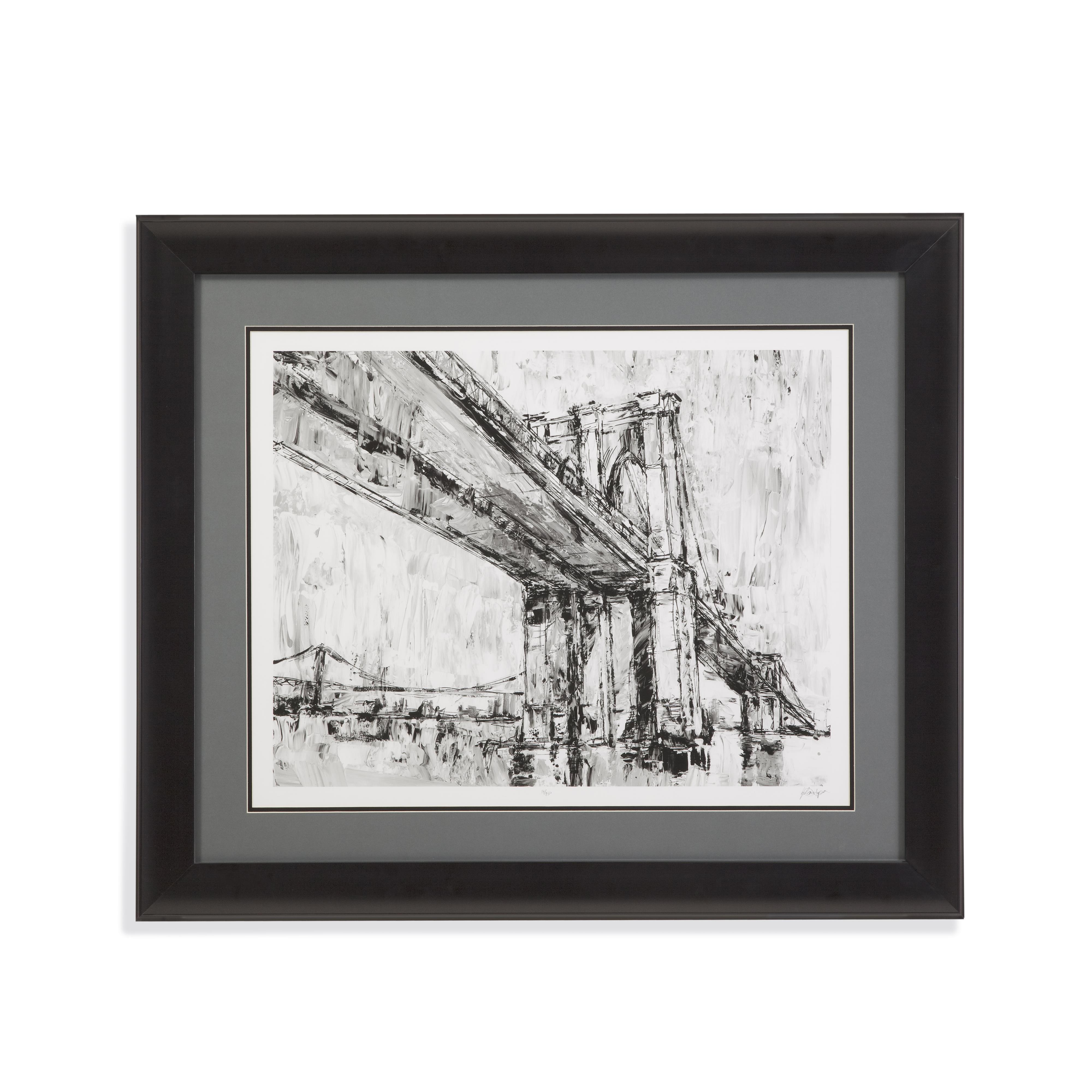 Belgian Luxe Iconic Suspension Bridge II by Bassett Mirror at Alison Craig Home Furnishings