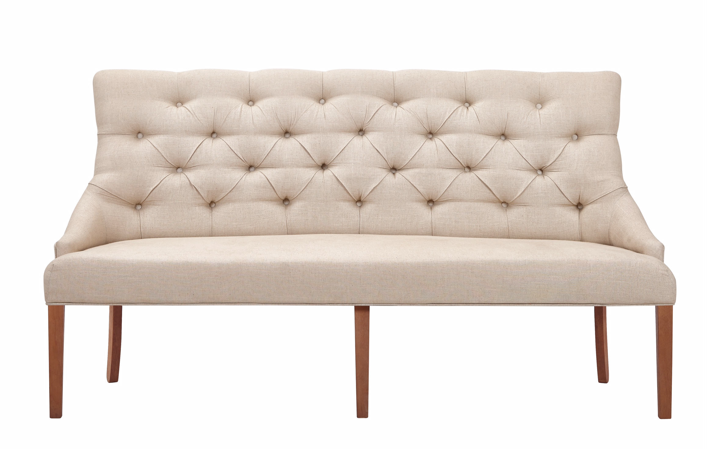 Belgian Luxe Fortnum Bench by Bassett Mirror at Alison Craig Home Furnishings