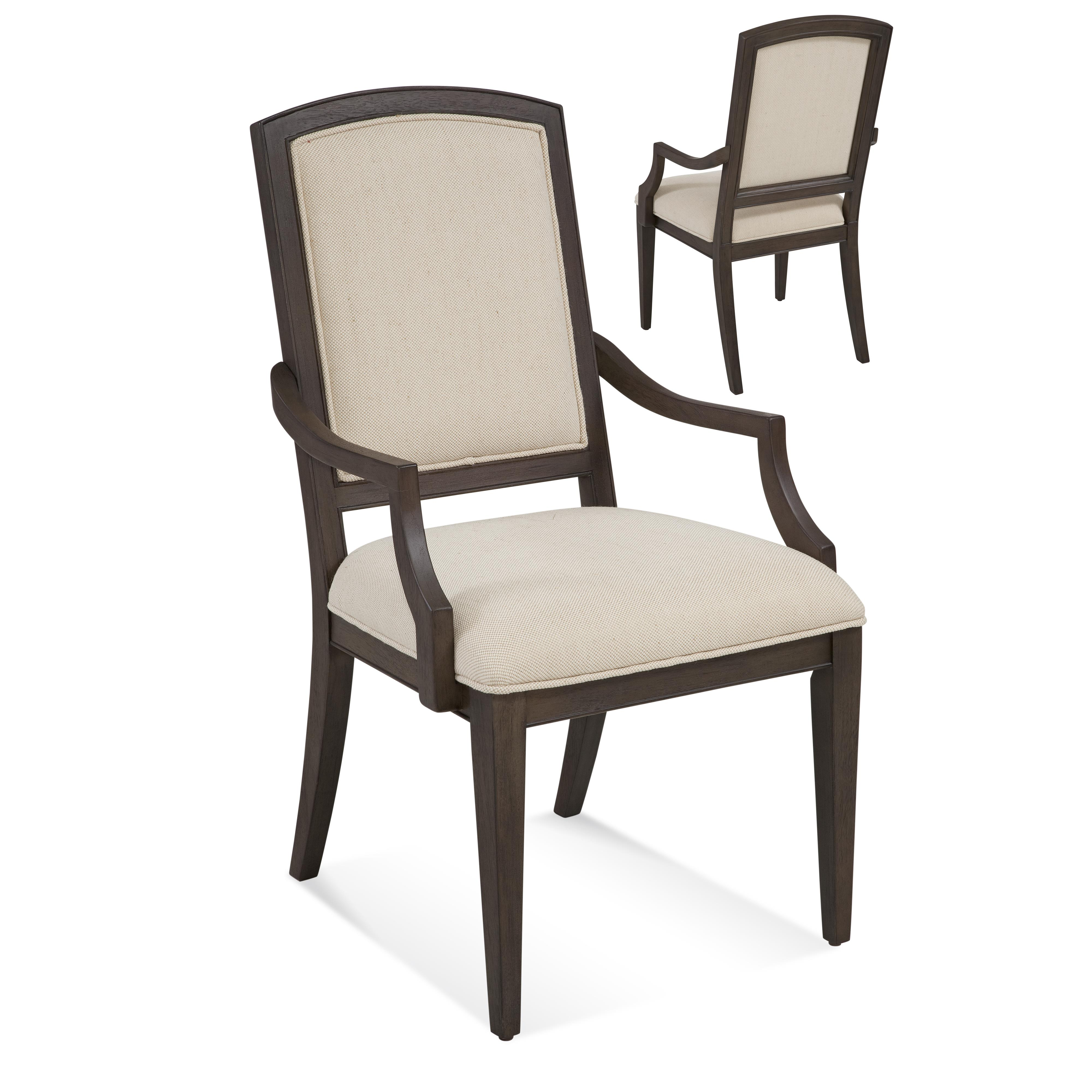 Belgian Luxe Marlette Arm Chair by Bassett Mirror at Alison Craig Home Furnishings