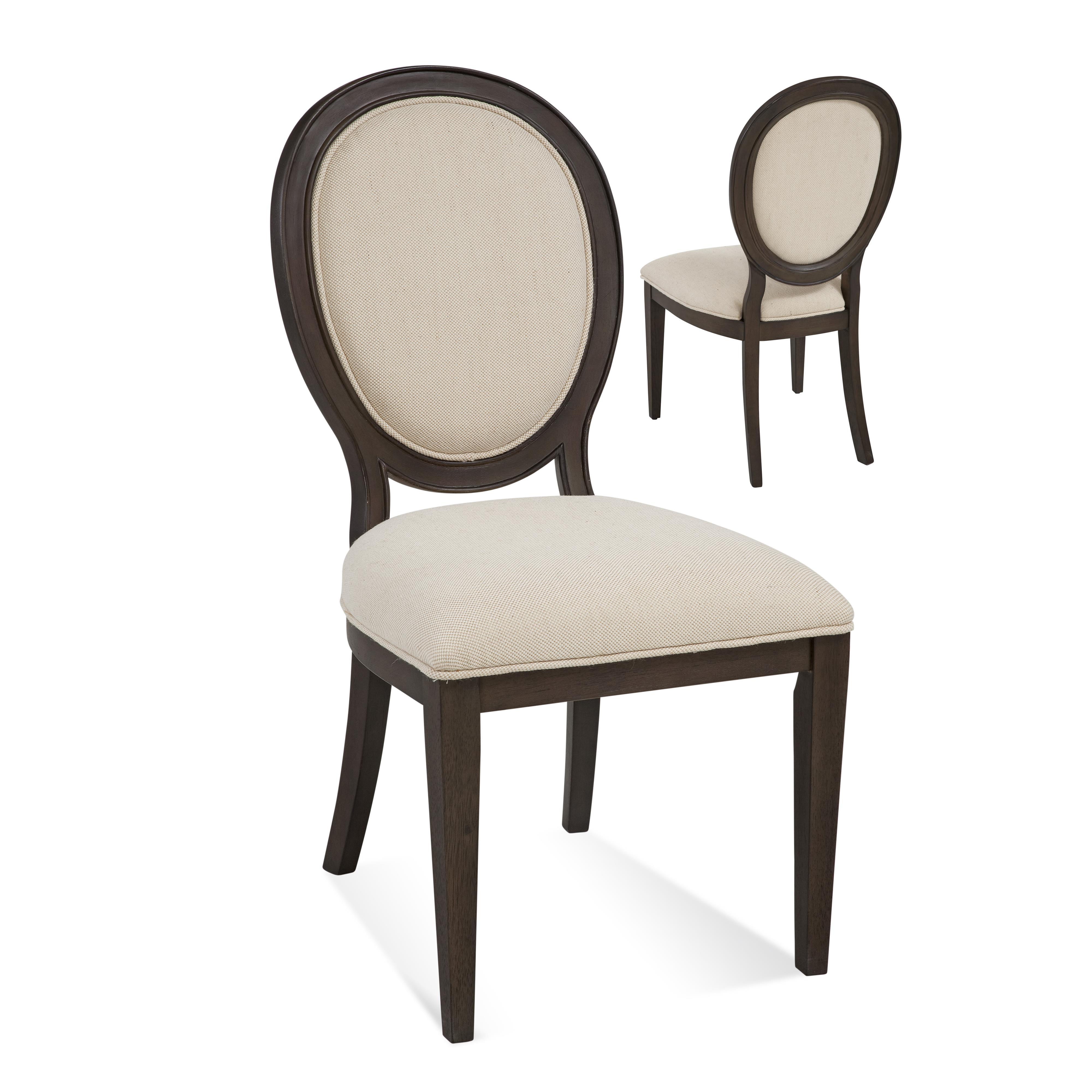 Belgian Luxe Cornelia Side Chair by Bassett Mirror at Alison Craig Home Furnishings
