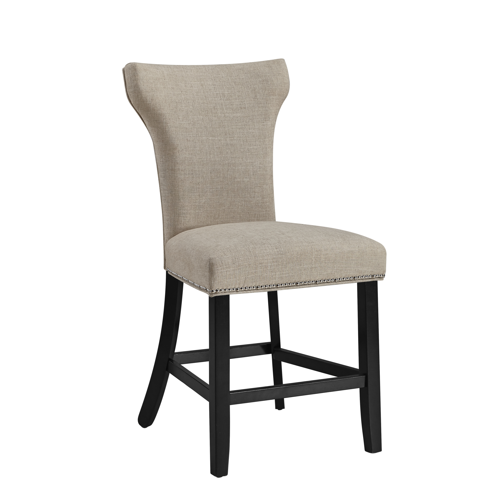 Belgian Luxe Nelson Counter Stool by Bassett Mirror at Alison Craig Home Furnishings