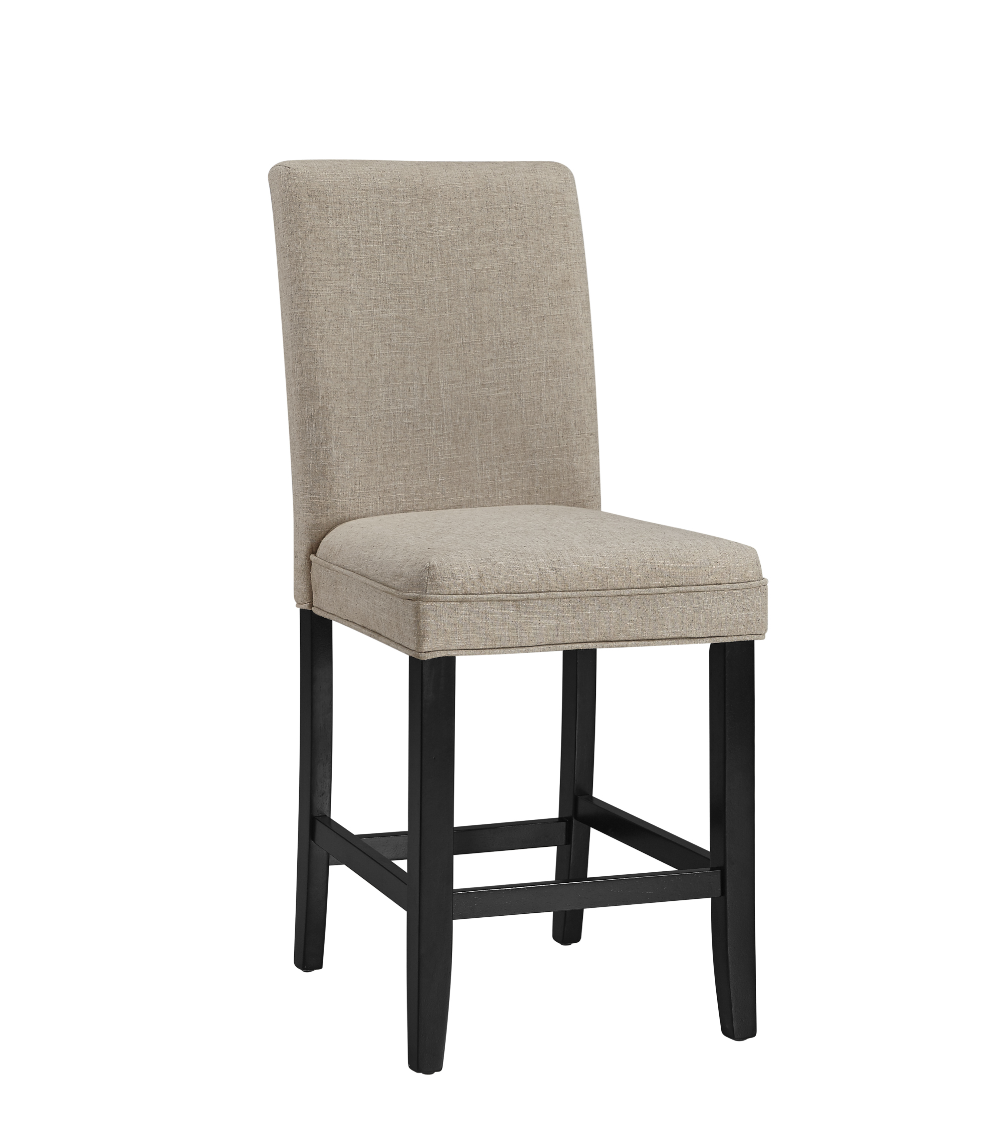 Belgian Luxe Colby Side Counter Stool by Bassett Mirror at Alison Craig Home Furnishings