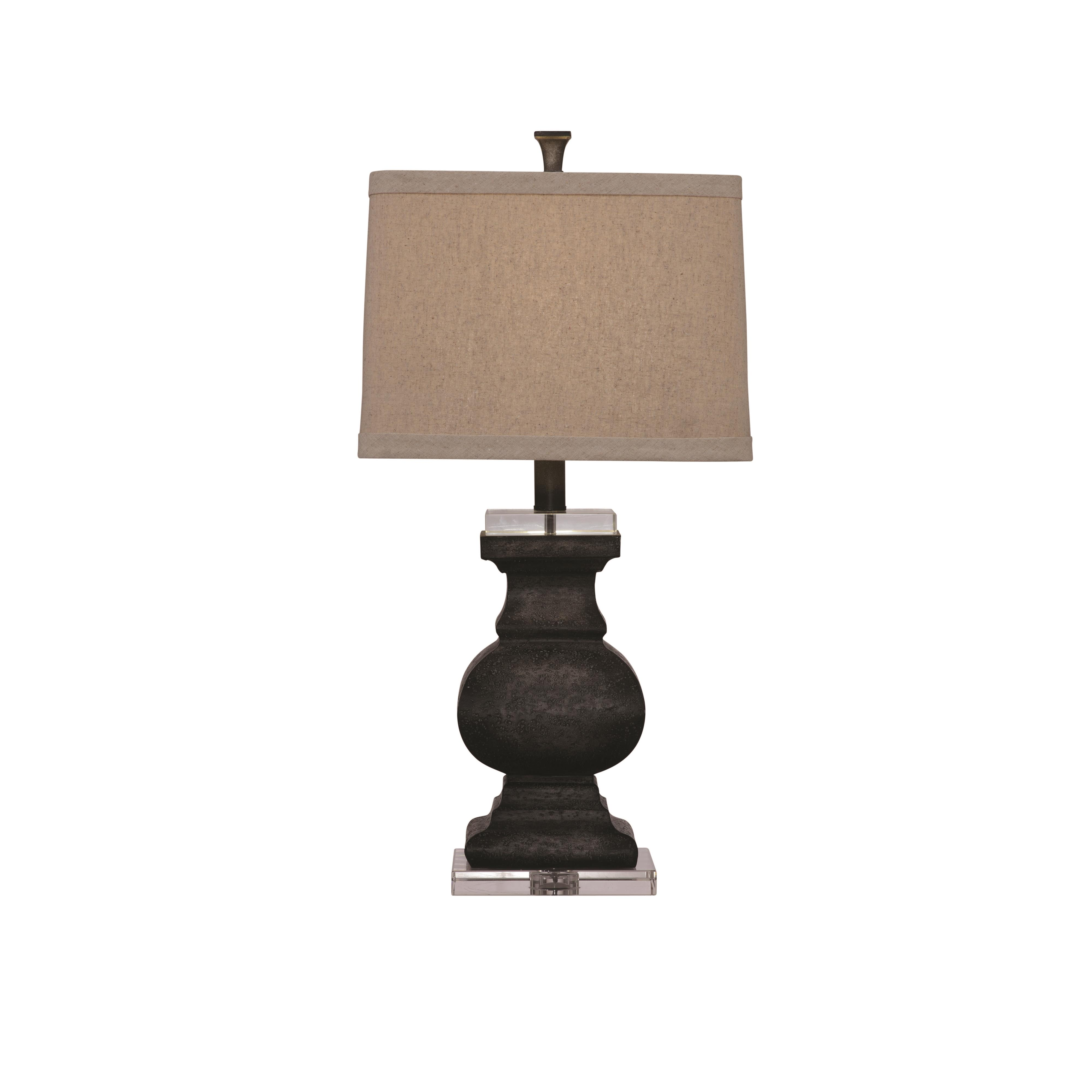 Belgian Luxe Carmel Table Lamp by Bassett Mirror at Alison Craig Home Furnishings