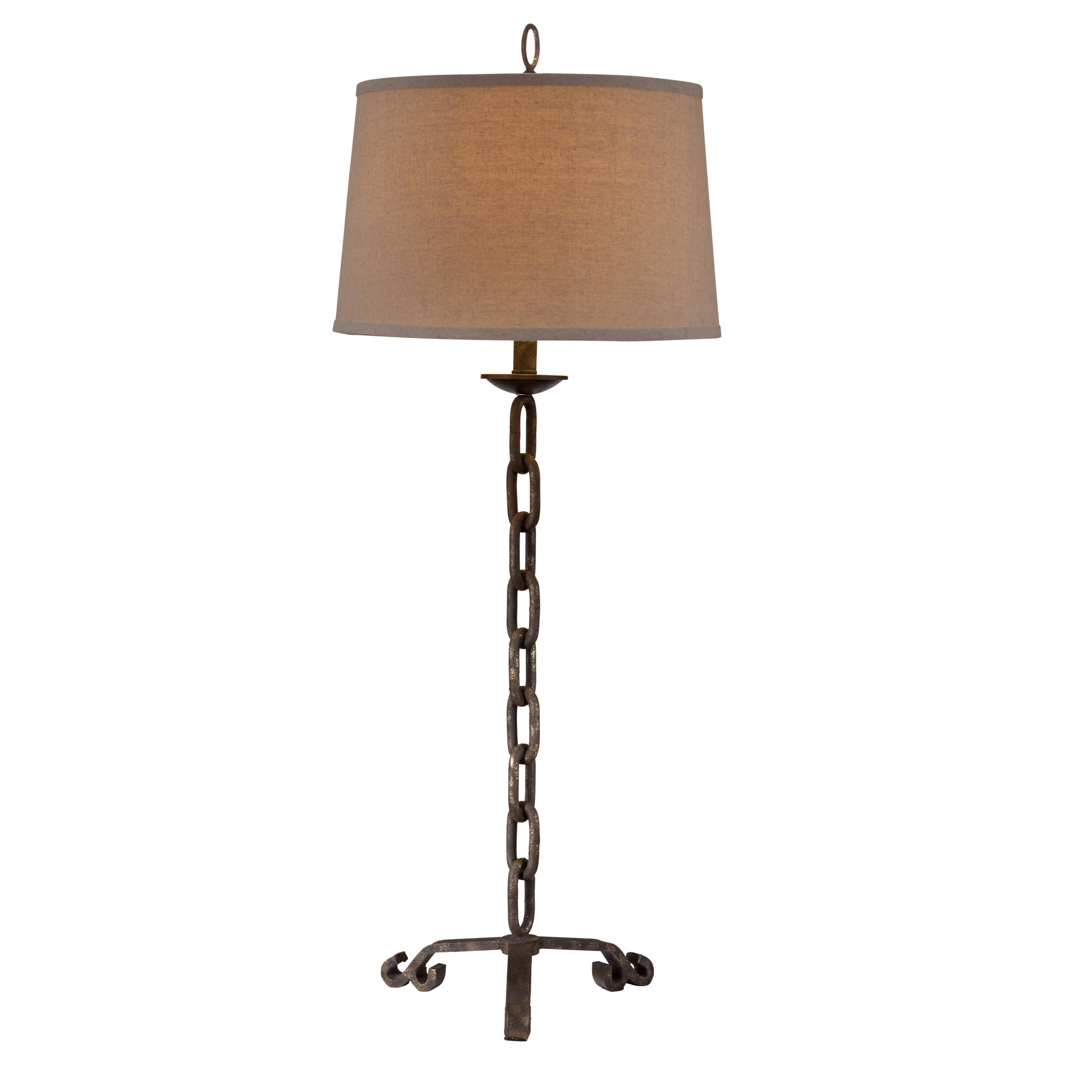 Belgian Luxe Links Table Lamp by Bassett Mirror at Alison Craig Home Furnishings