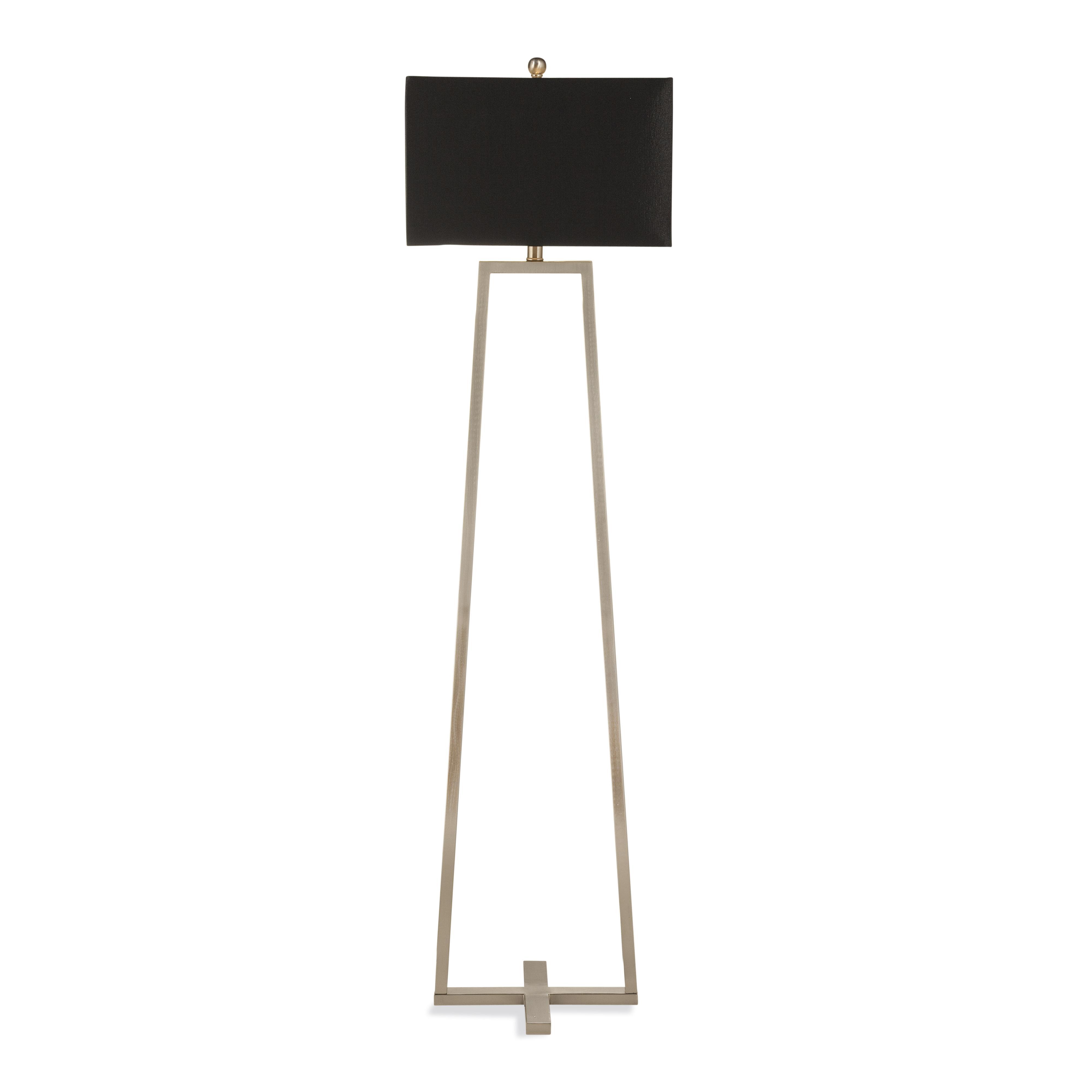 Belgian Luxe Wesley Floor Lamp by Bassett Mirror at Alison Craig Home Furnishings