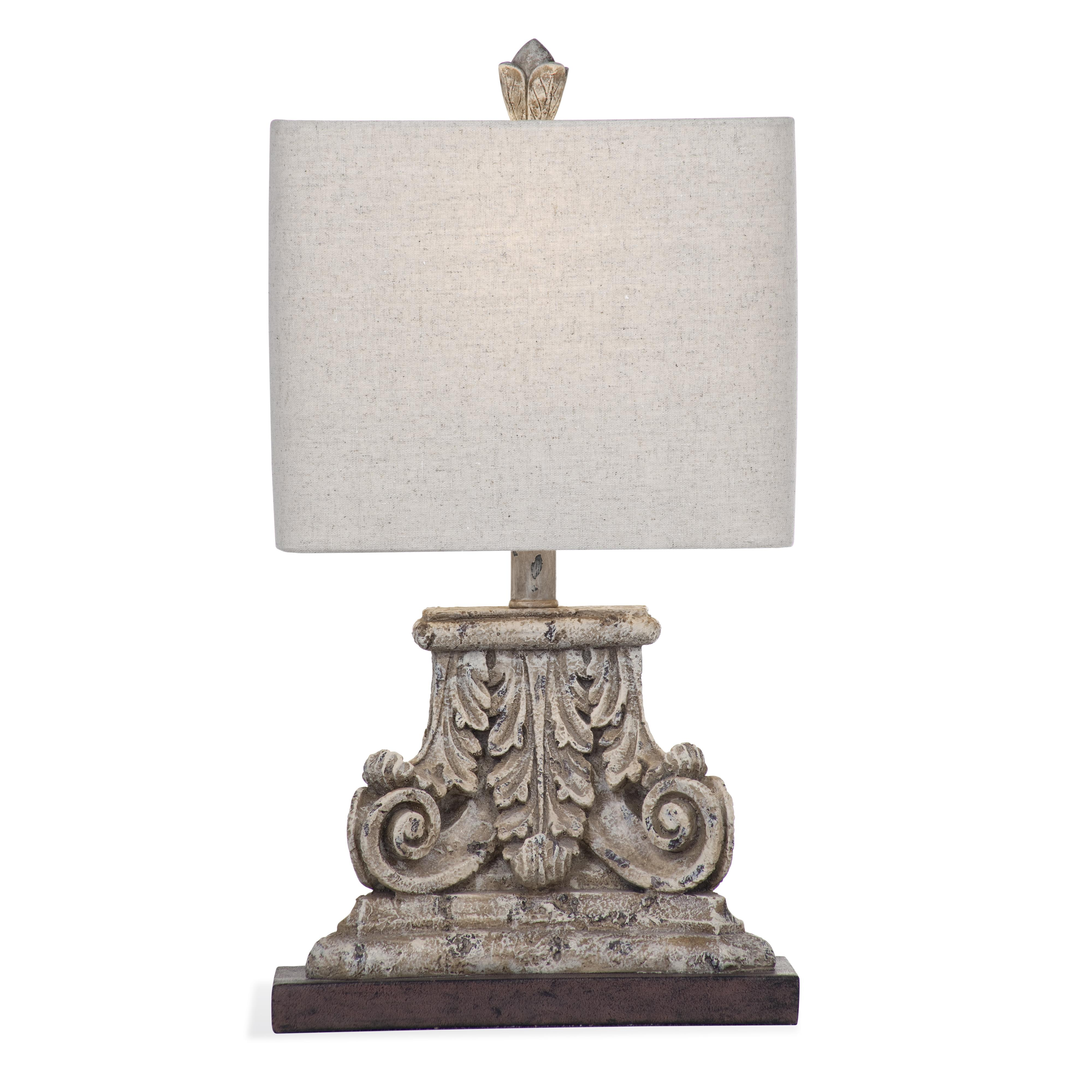 Belgian Luxe Lachlan Table Lamp by Bassett Mirror at Alison Craig Home Furnishings