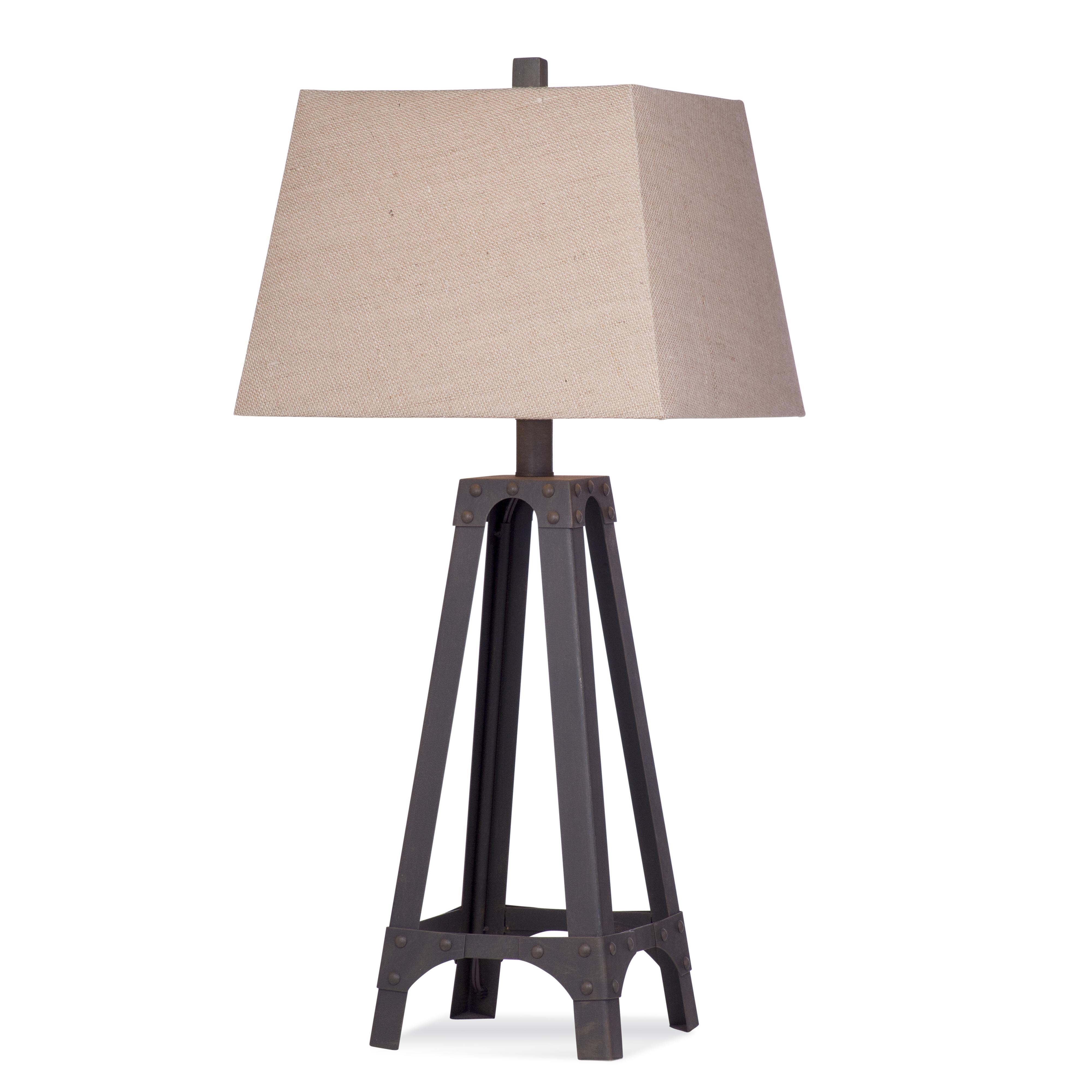 Belgian Luxe Blackwell Table Lamp by Bassett Mirror at Alison Craig Home Furnishings