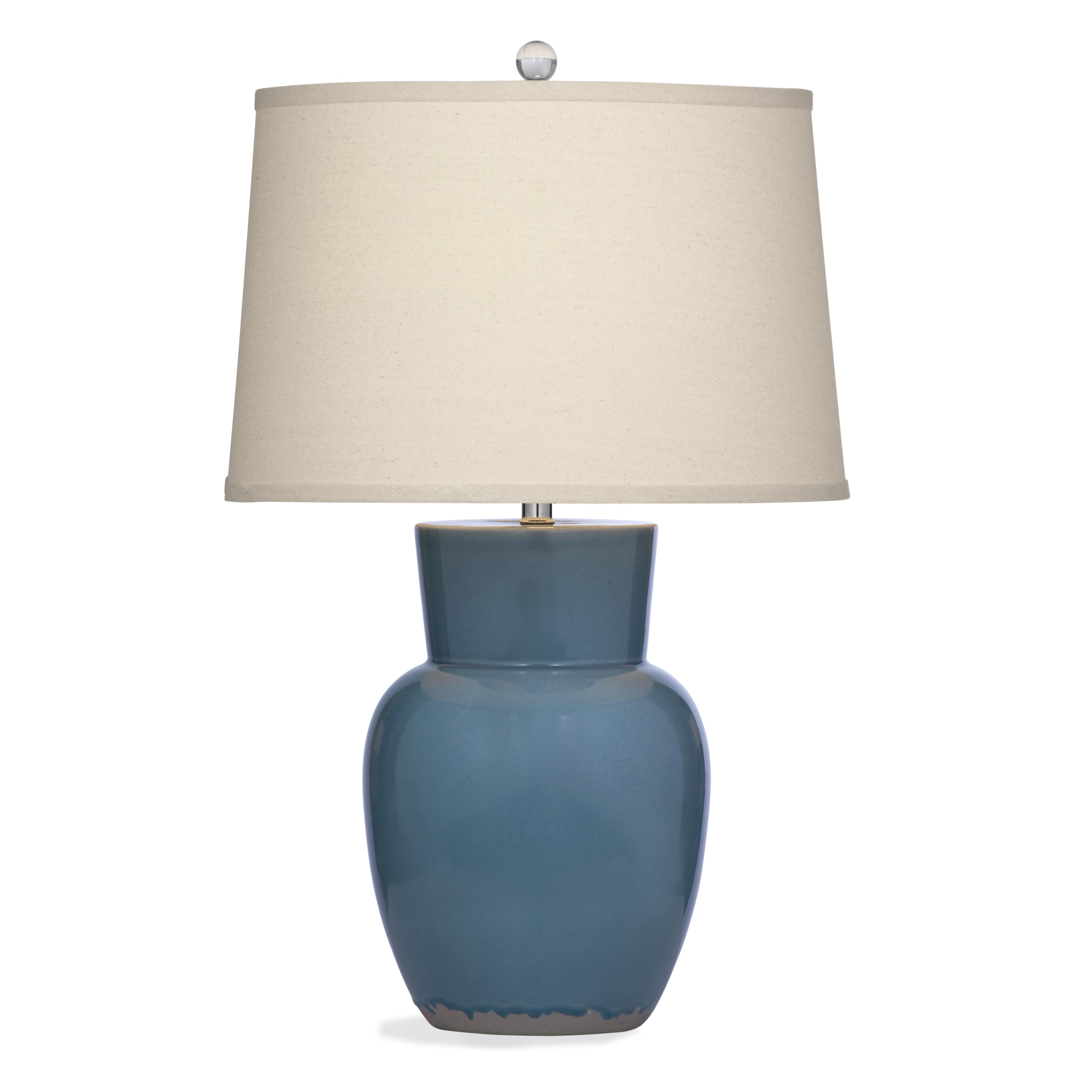 Belgian Luxe Odessa Table Lamp by Bassett Mirror at Alison Craig Home Furnishings