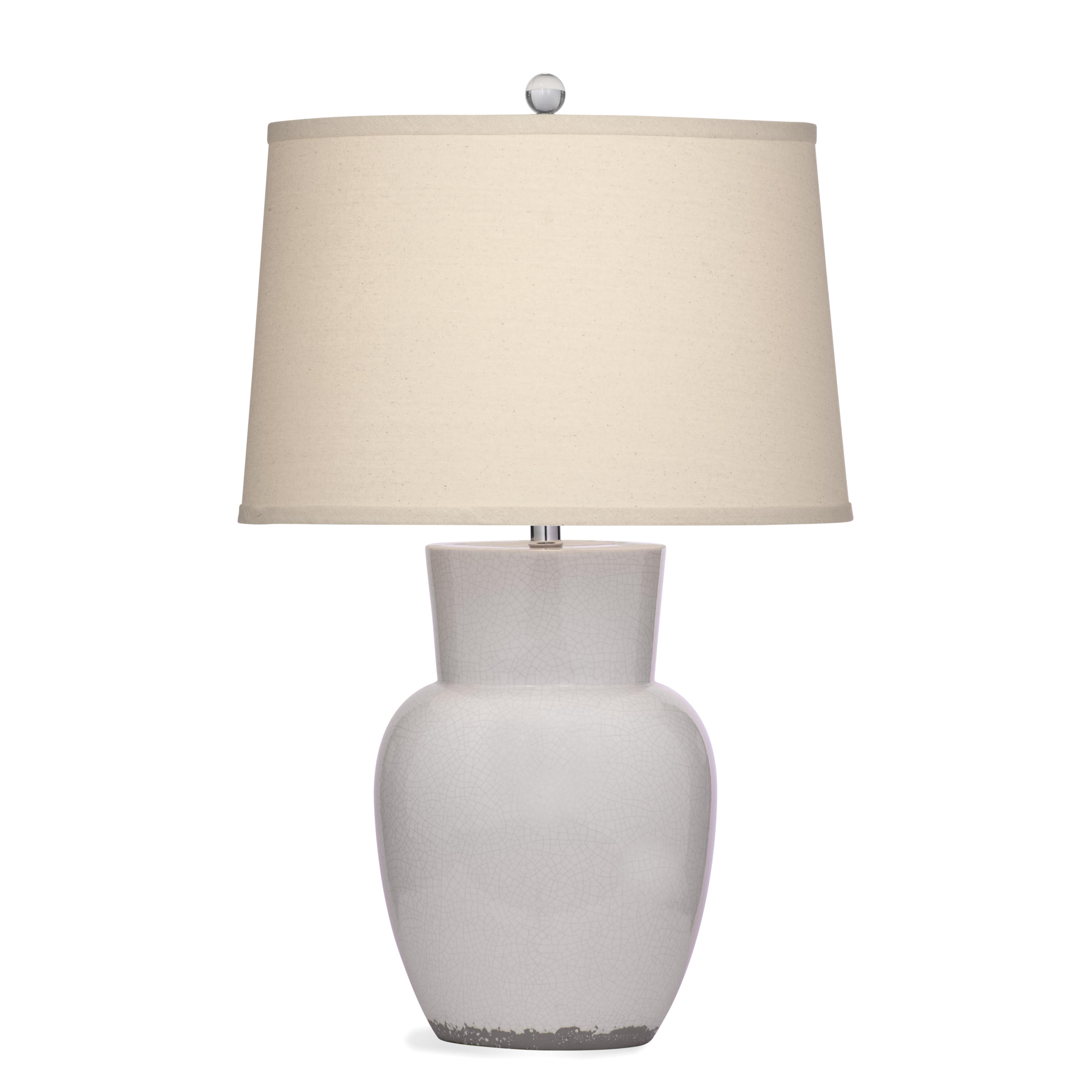 Belgian Luxe Roswell Table Lamp by Bassett Mirror at Alison Craig Home Furnishings